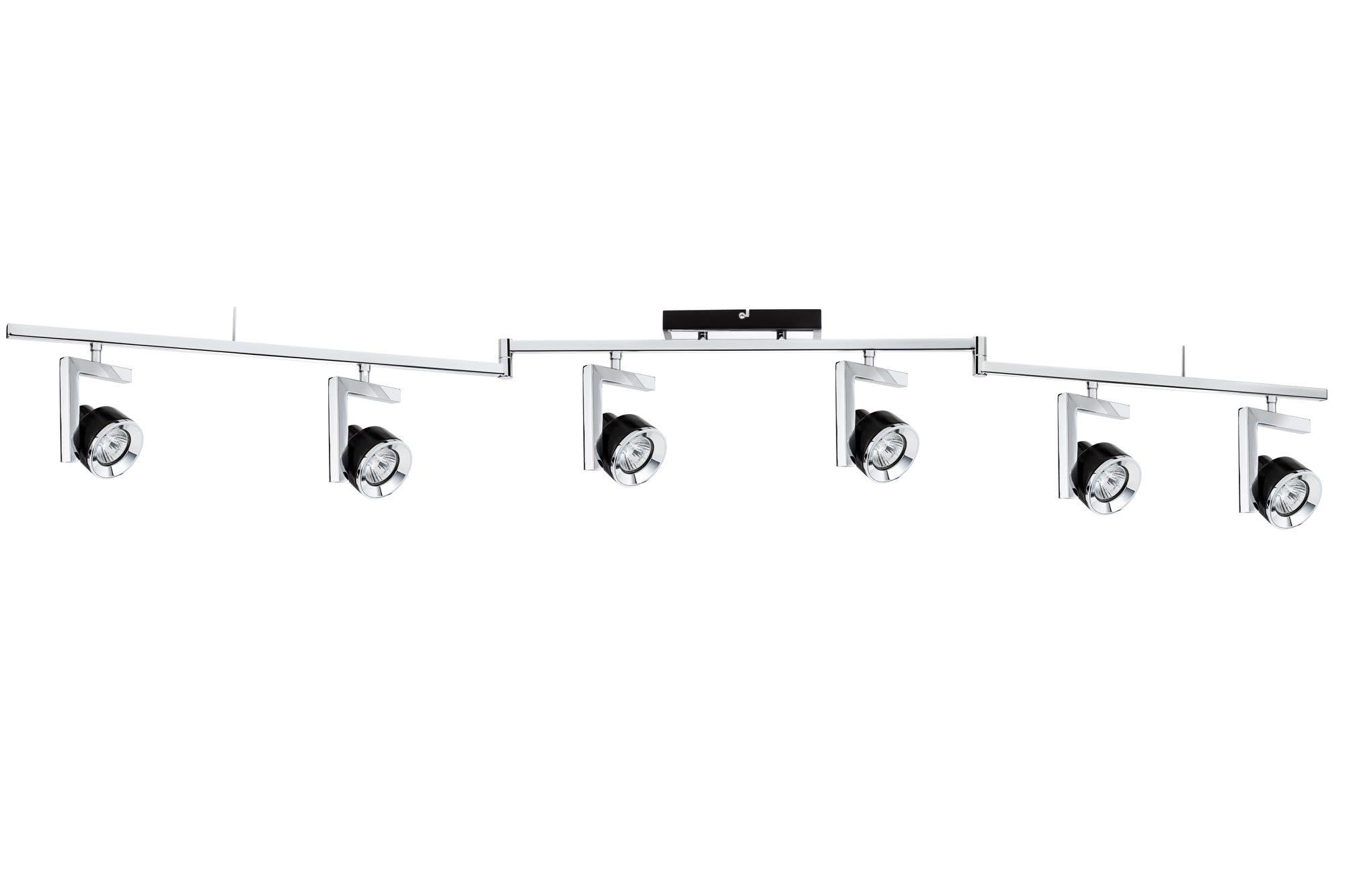 Paulmann. 60236 Светильник Stange 6x40W GU10 Sz/Chr