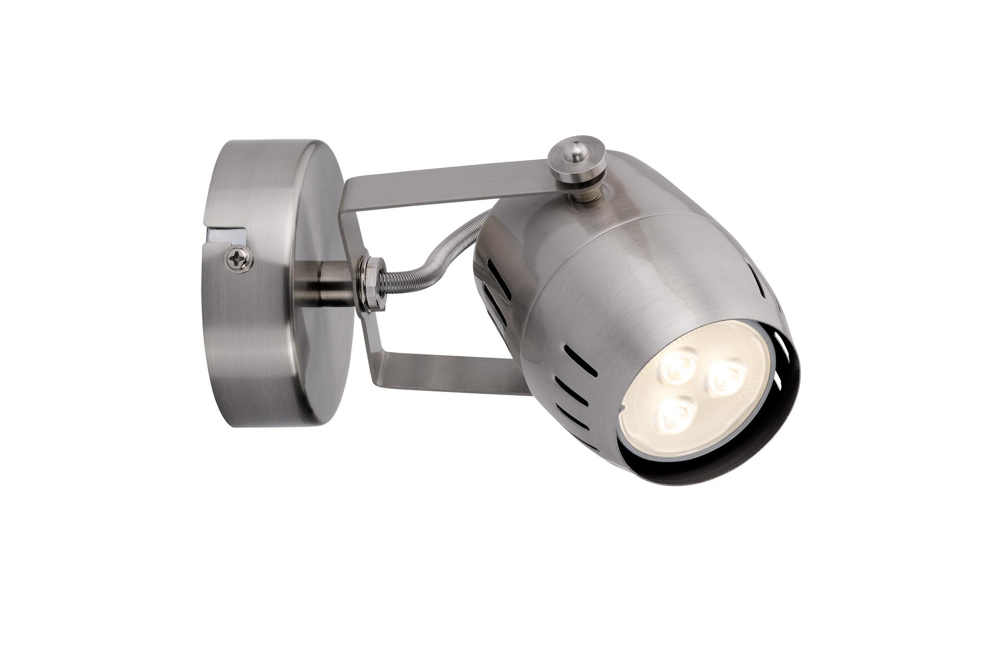 Paulmann. 60285 Светильник настенный Gamma LED 1x3,5W GU10, никель