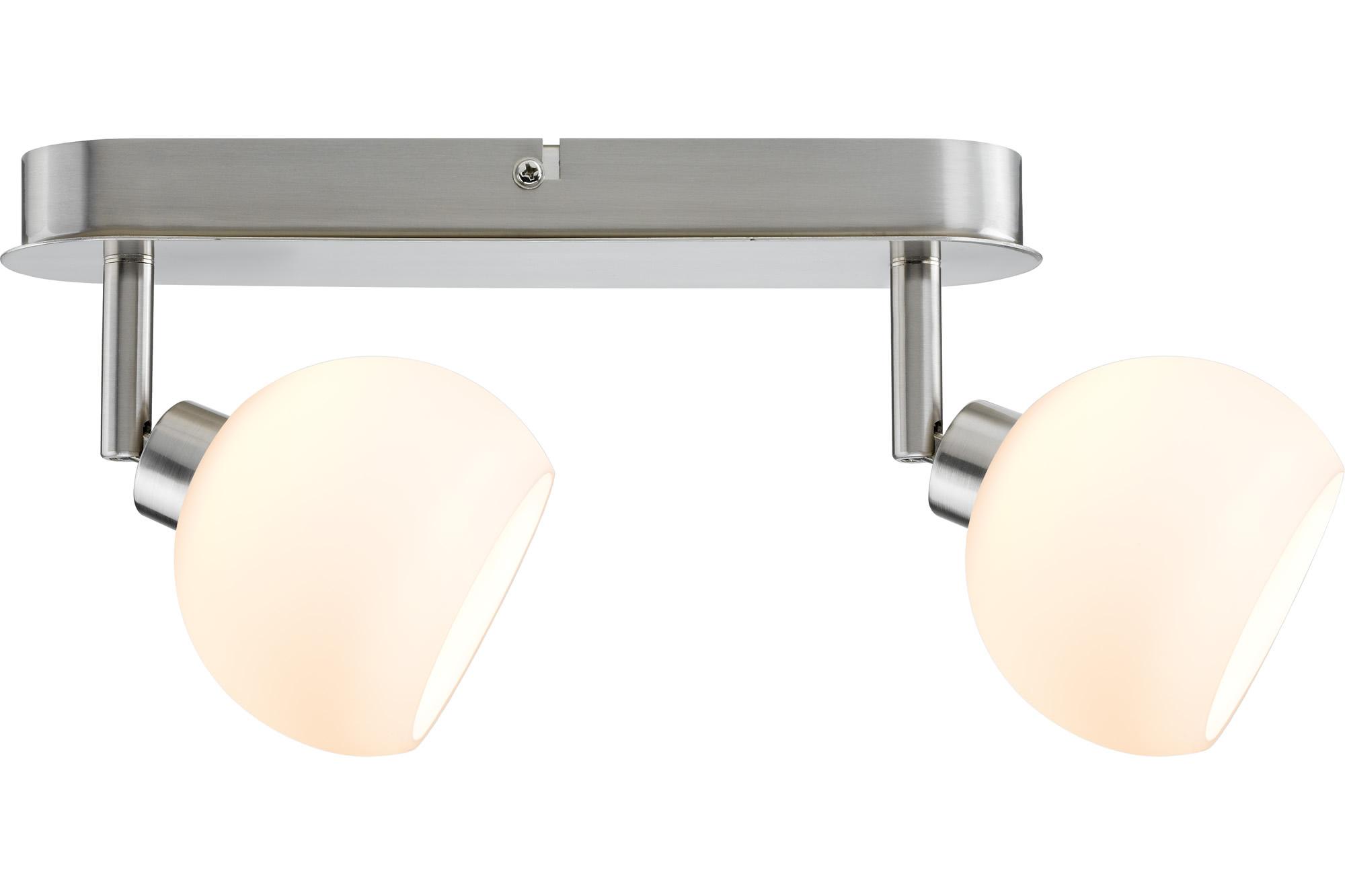 Paulmann. 60295 Светильник Wolbi LED Balken 2x3W GZ10 Eis-g/Ws