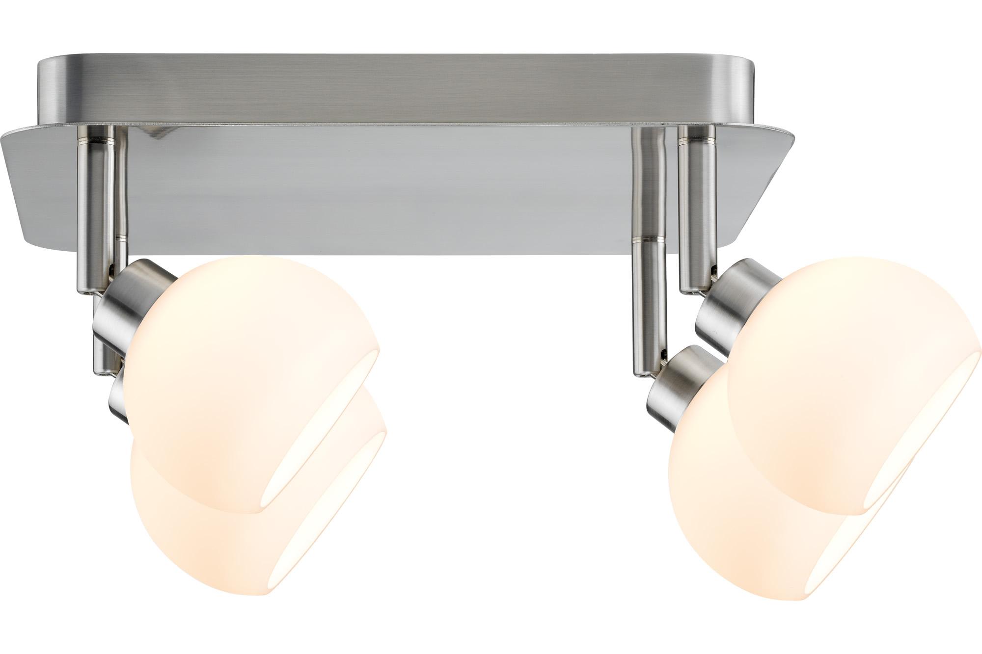 Paulmann. 60297 SL Wolbi LED Rondell 4x3W GZ10 Eis-g/Ws