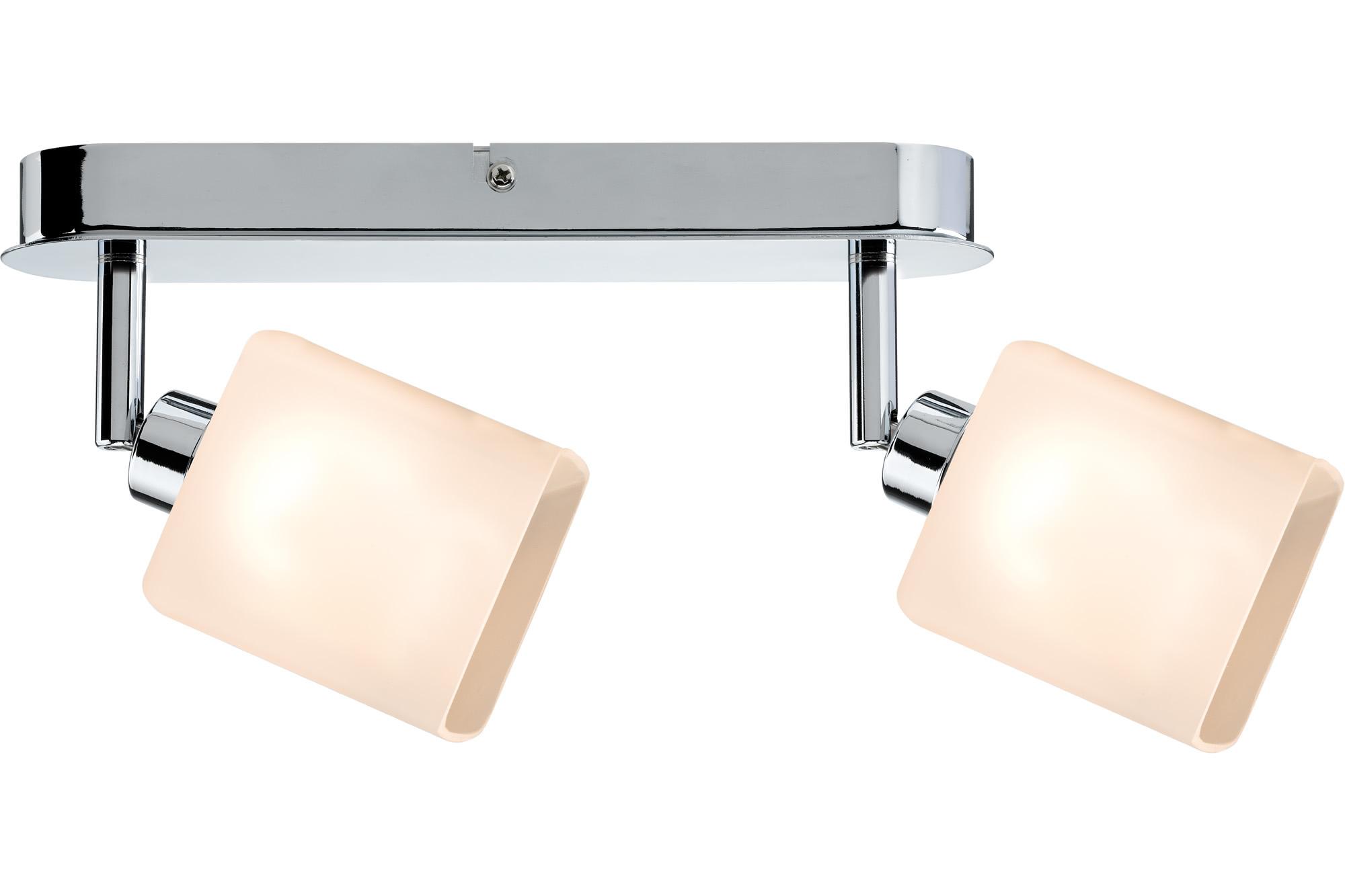 Paulmann. 60303 SL Quad LED Balken 2x3W GZ10 Chr/Ws