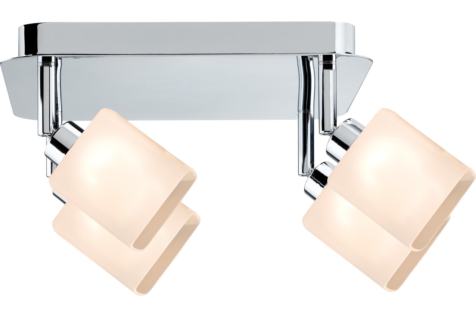 Paulmann. 60305 SL Quad LED Rondell 4x3W GZ10 Chr/Ws