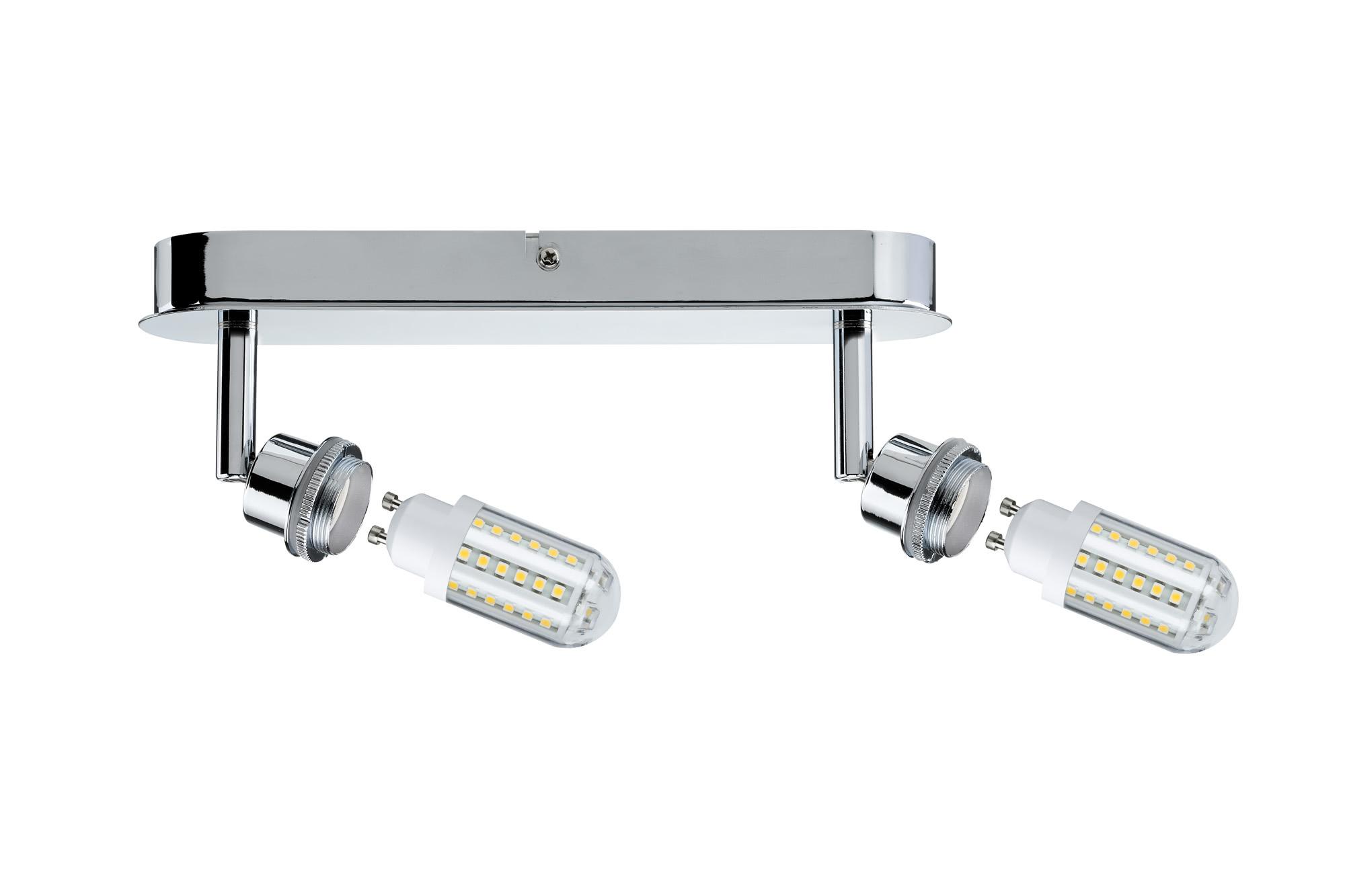 Paulmann. 60307 SL Deco LED Balken 2x3W GZ10 Chr