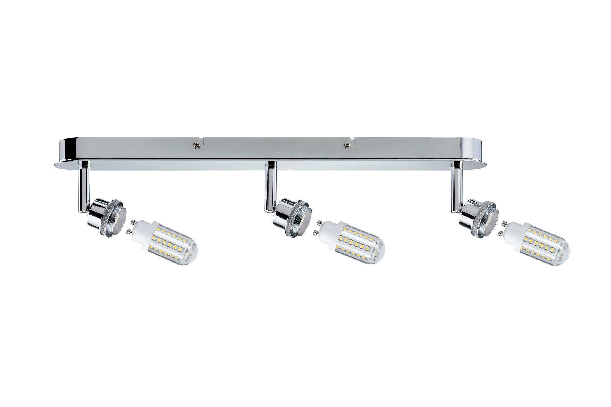 Paulmann. 60308 SL Deco LED Balken 3x3W GZ10 Chr