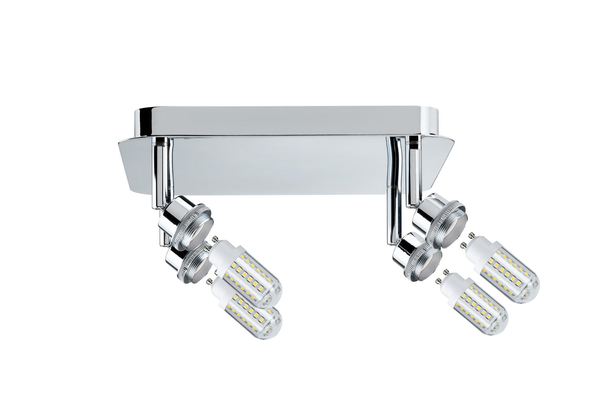 Paulmann. 60309 SL Deco LED Rondell 4x3W GZ10 Chr