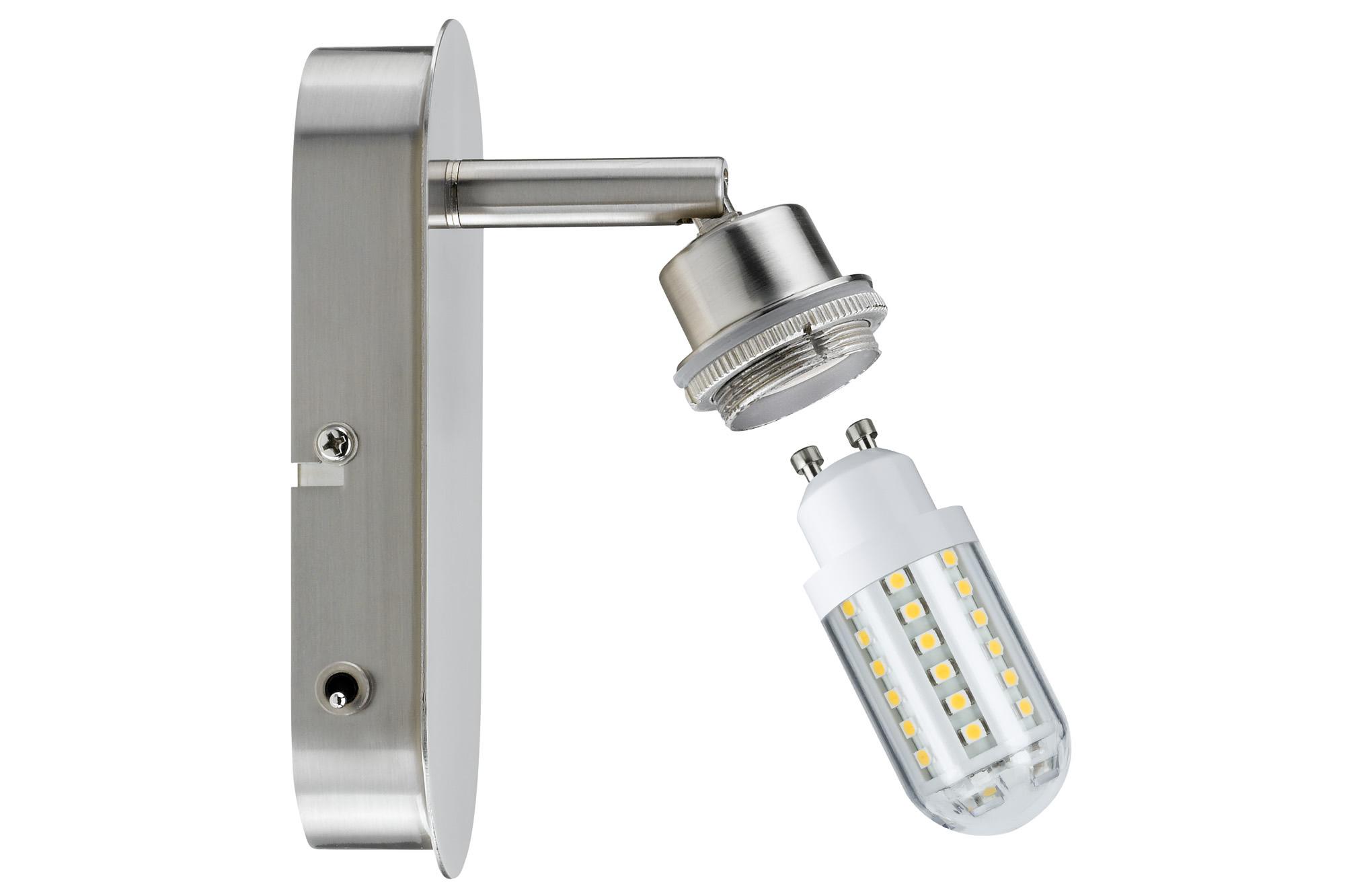 Paulmann. 60310 SL Deco LED Balken 1x3W GZ10 Eis-g