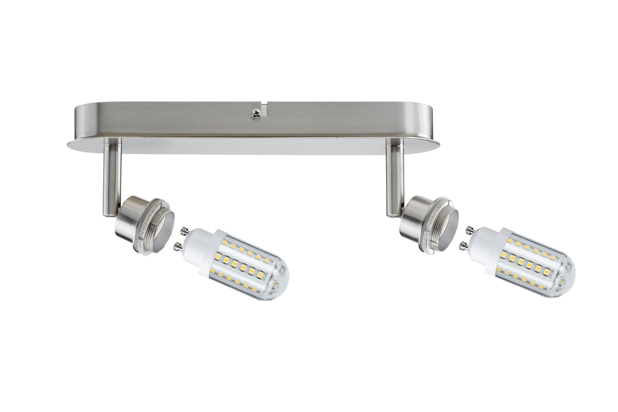 Paulmann. 60311 SL Deco LED Balken 2x3W GZ10 Eis-g