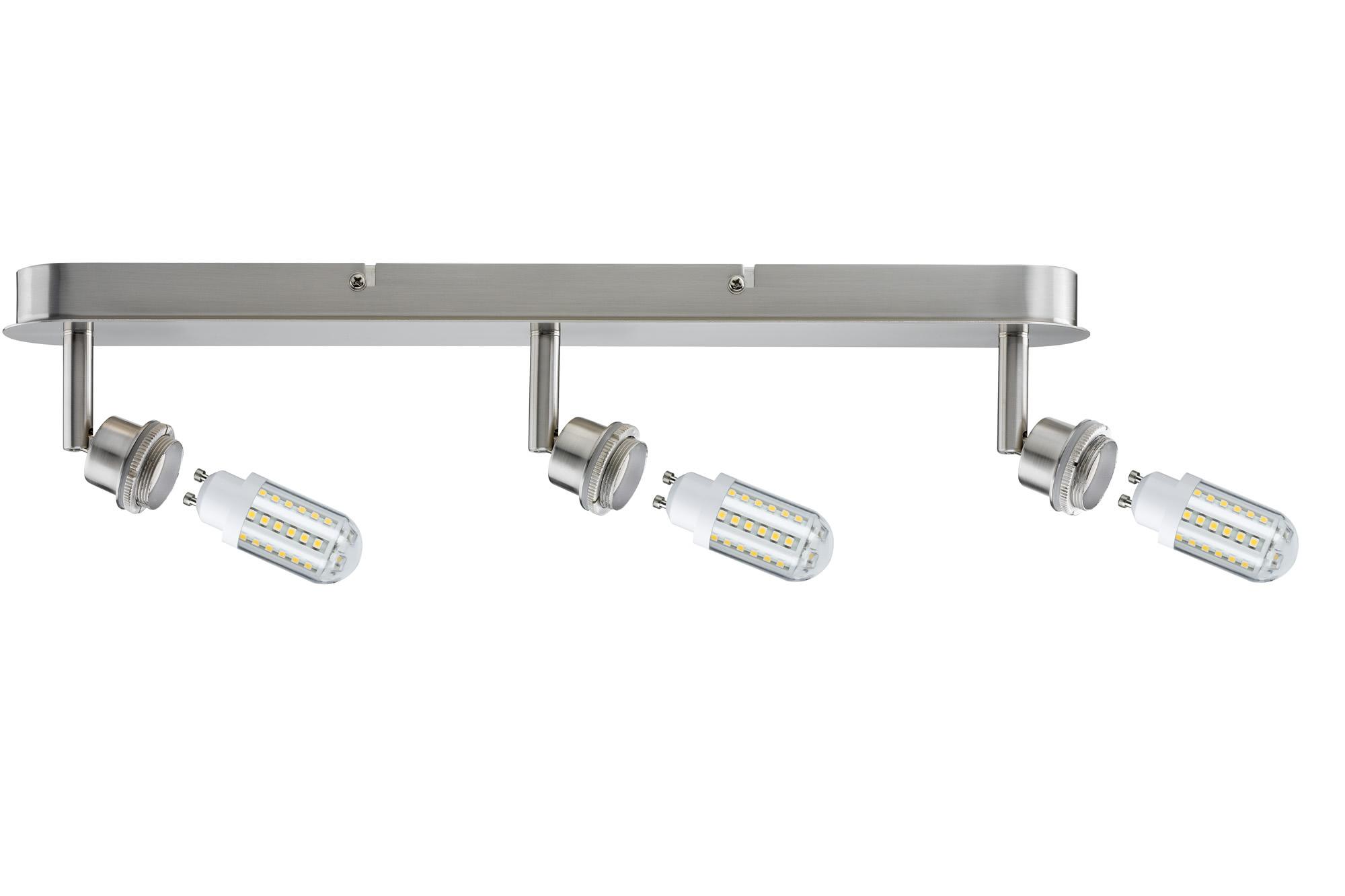 Paulmann. 60312 SL Deco LED Balken 3x3W GZ10 Eis-g
