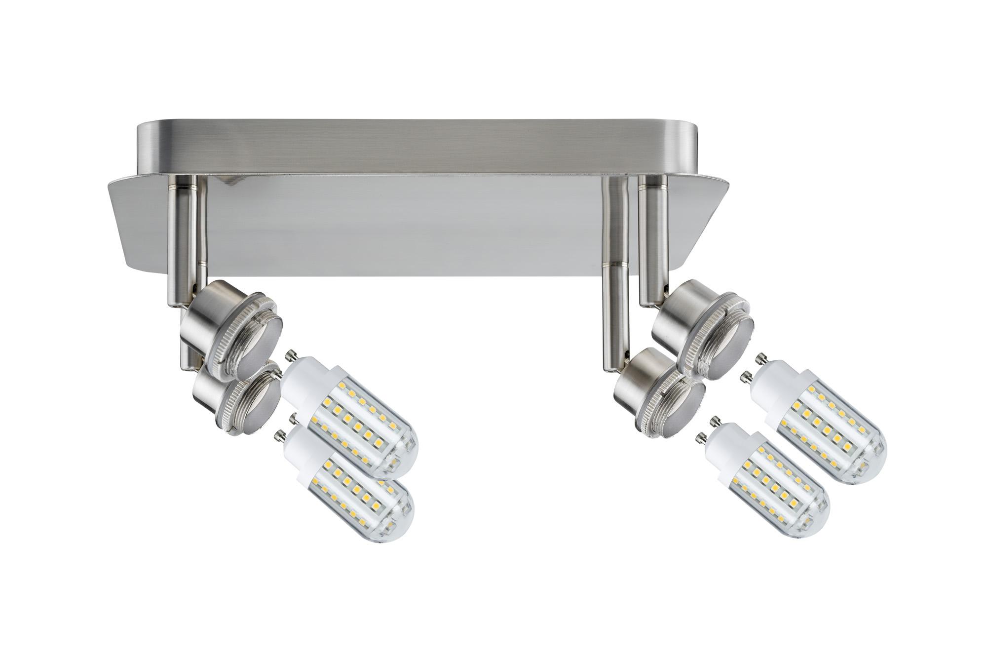 Paulmann. 60313 SL Deco LED Rondell 4x3W GZ10 Eis-g