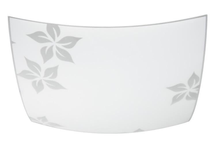 Paulmann. 70053 Стекло Modern Glas Square Flower 320x320mm