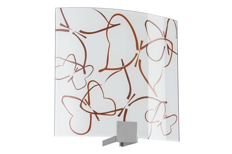 Paulmann. 70232 WallCeiling DS Modern Deco-Set WL Cove Butterflies 280x280mm Metall/Glas