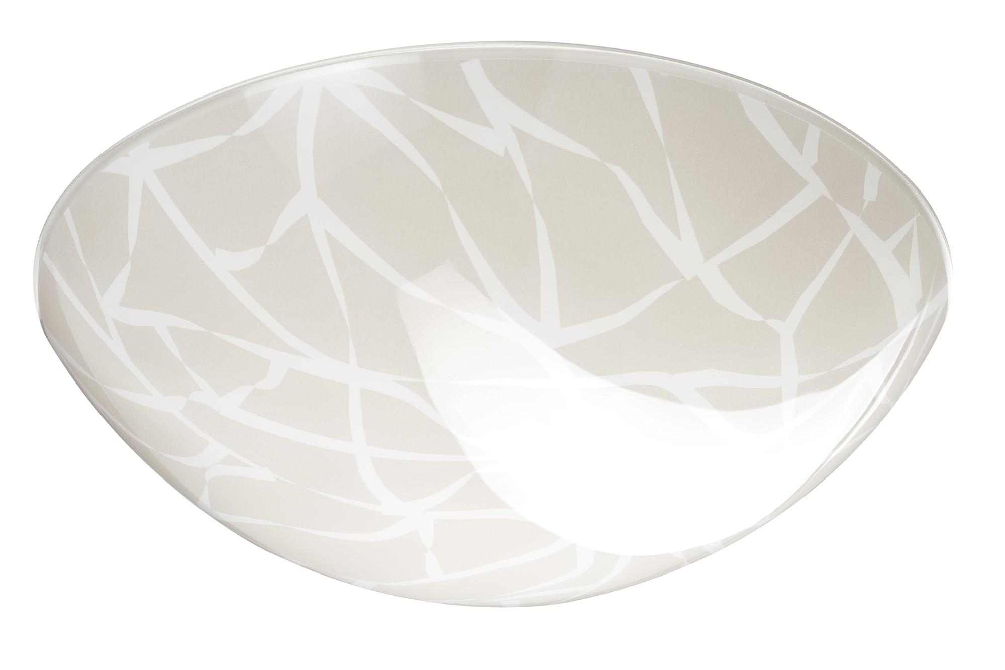 Paulmann. 70237 Плафон Circle Branches, стекло, 295мм