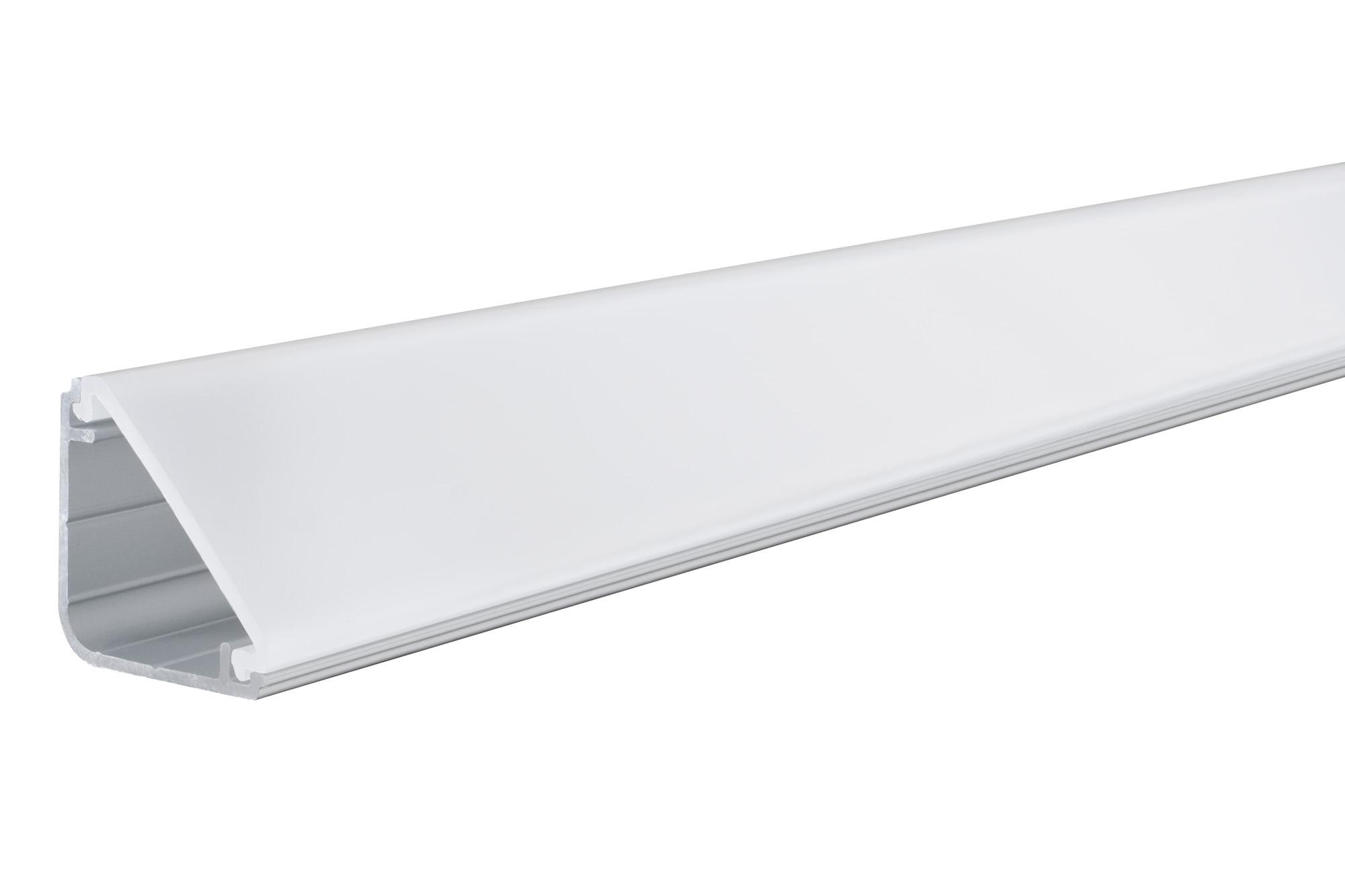 Paulmann. 70262 Профиль плинтус FN Delta Profil Diffusor 100cm Alu/Satin