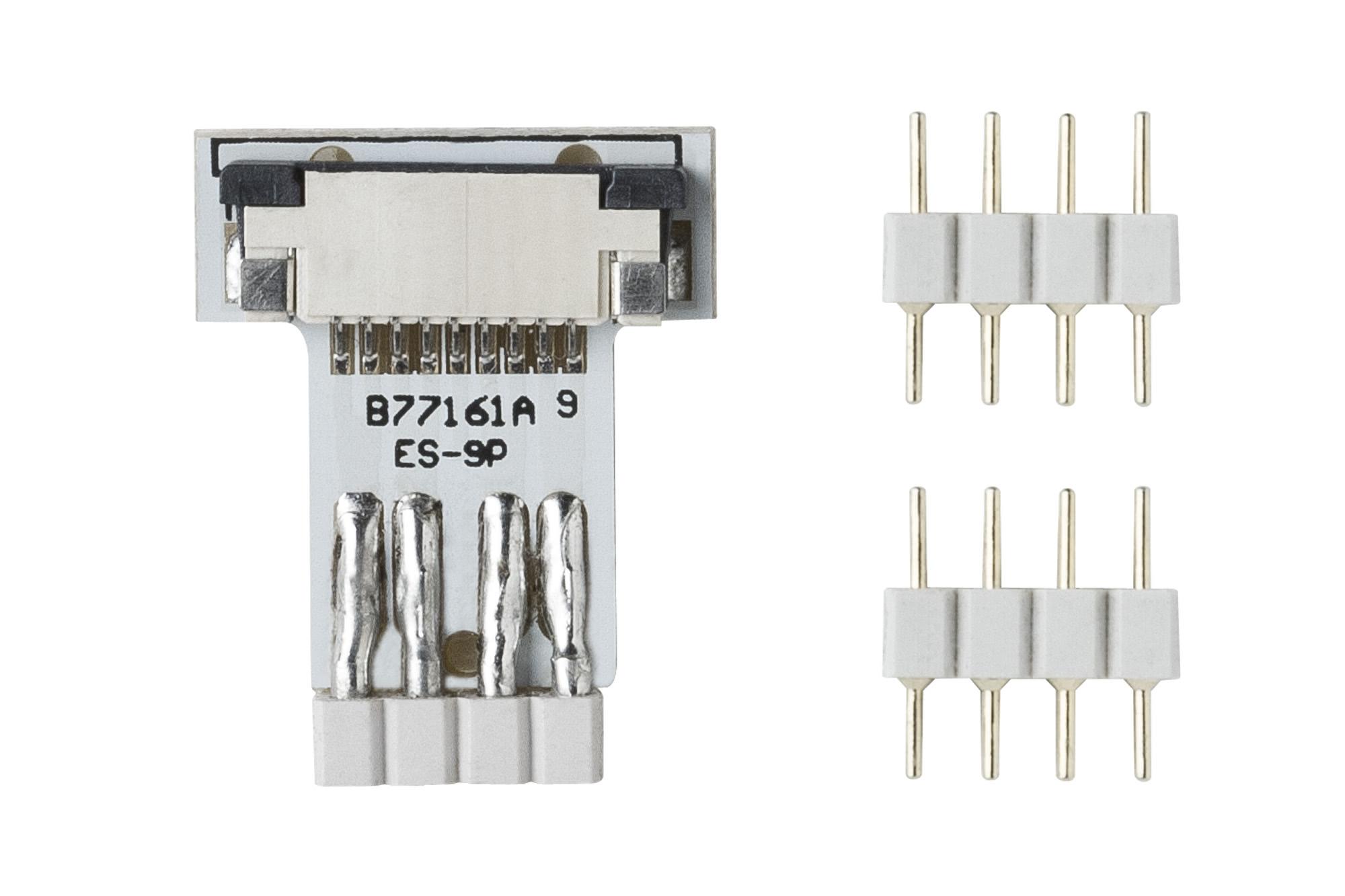 Paulmann. 70281 Коннектор для ленты YourLED ECO Clip-to-YourLED 2er Ws