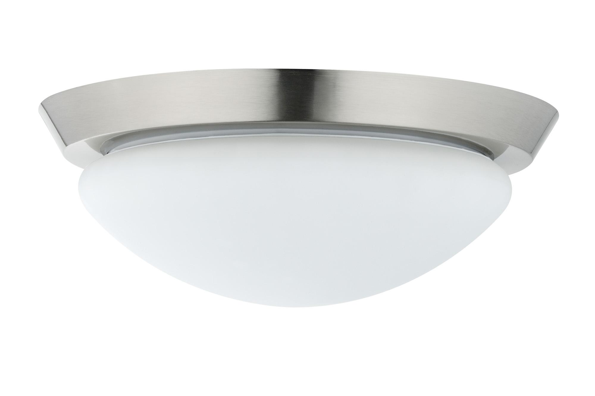 Paulmann. 70300 Светильник настенно-потолочный 1x60W W-D Ixa 230V E27 Железо шероховатое/Опал