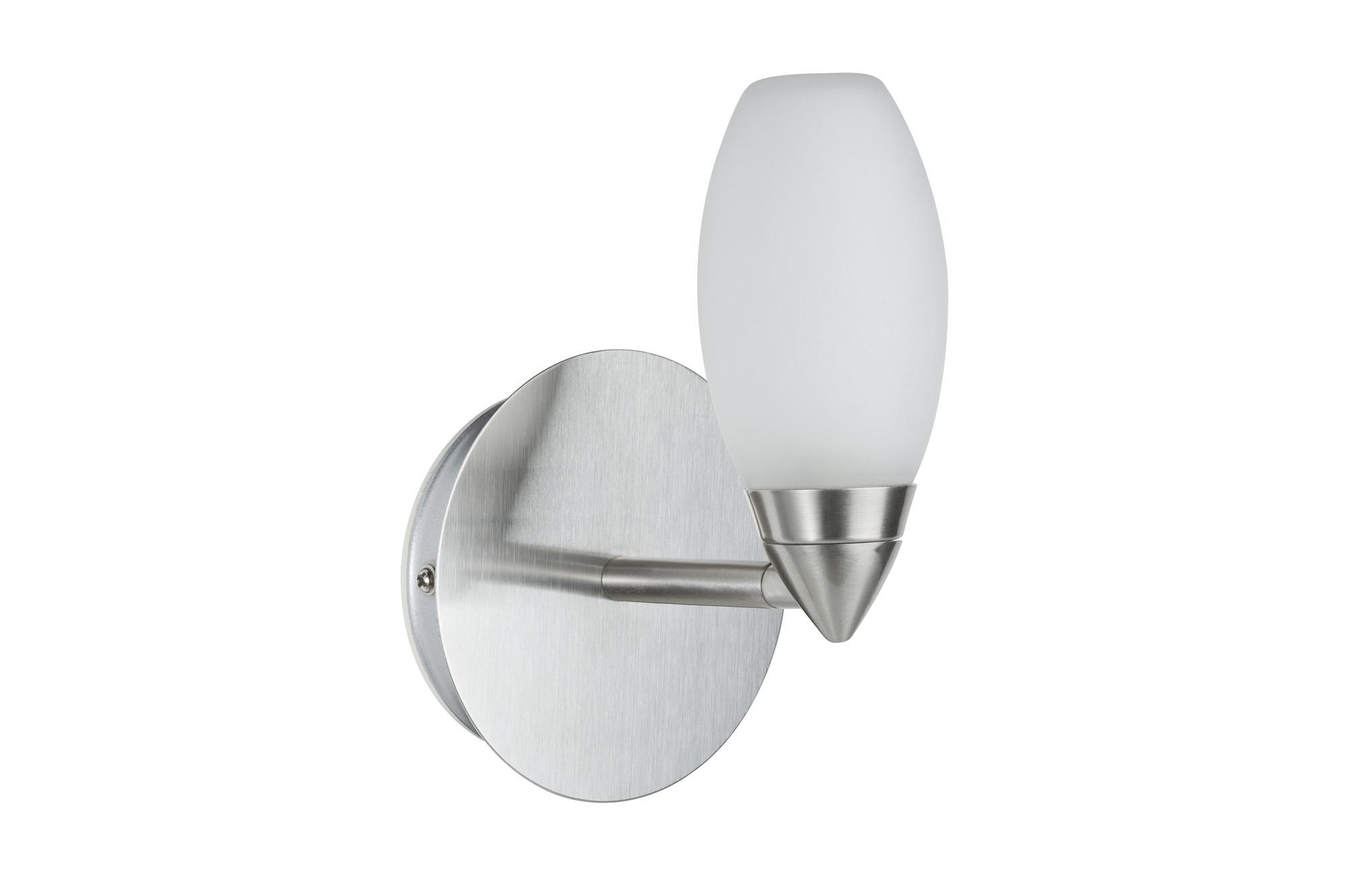 Paulmann. 70352 Светильник настенный галоген 1х33W W-D Carina 230V G9 Железо шероховатое/Сатин