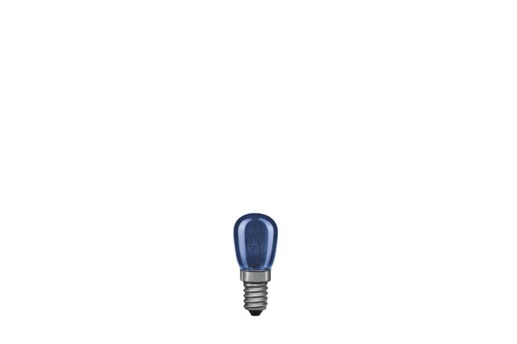 Paulmann. 81010 Грушевидная лампа TV-синяя, E14, 25мм 15W