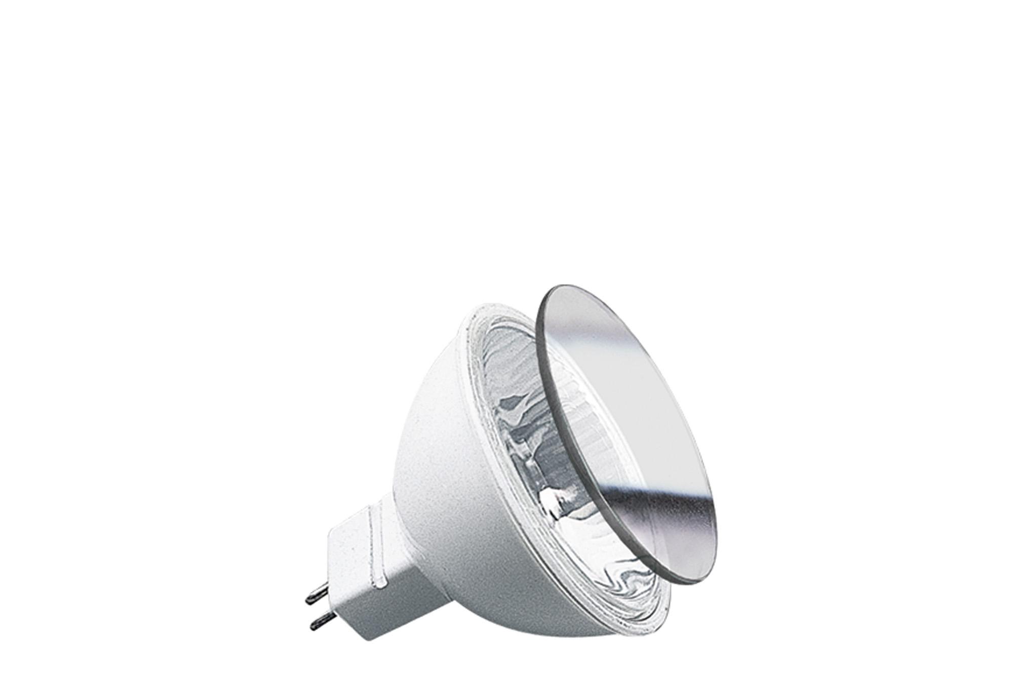 Paulmann. 83256 Гал. Акцент рефлектор. лампа с защ.стеклом белая GU5,3 50W