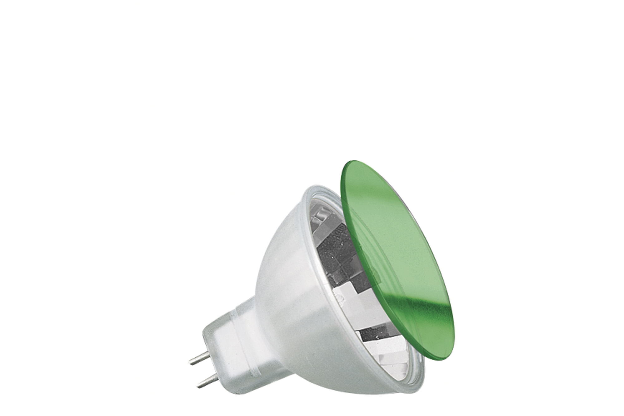 Paulmann. 83343 Гал.зерк.лампа хол.света c защ.стеклом зеленая, GU5,3 35W
