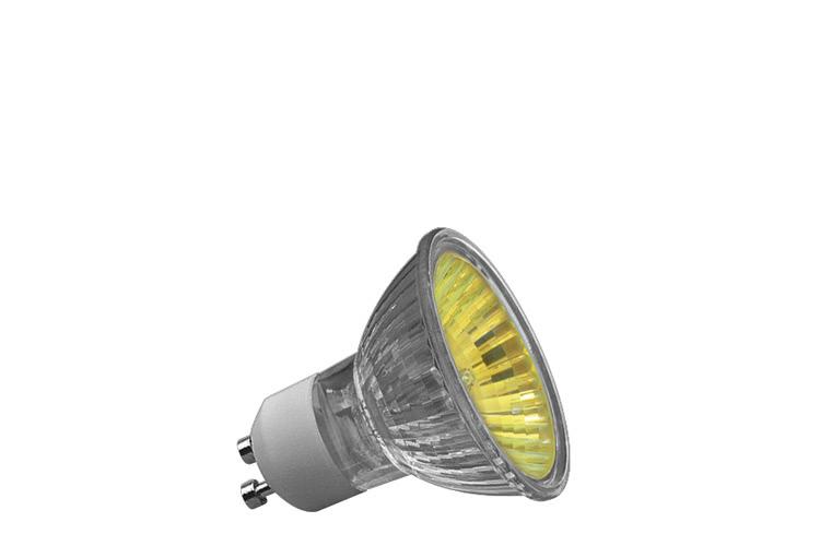 Paulmann. 83646 Гал. рефлект. лампа, желтая, GU10, 50W