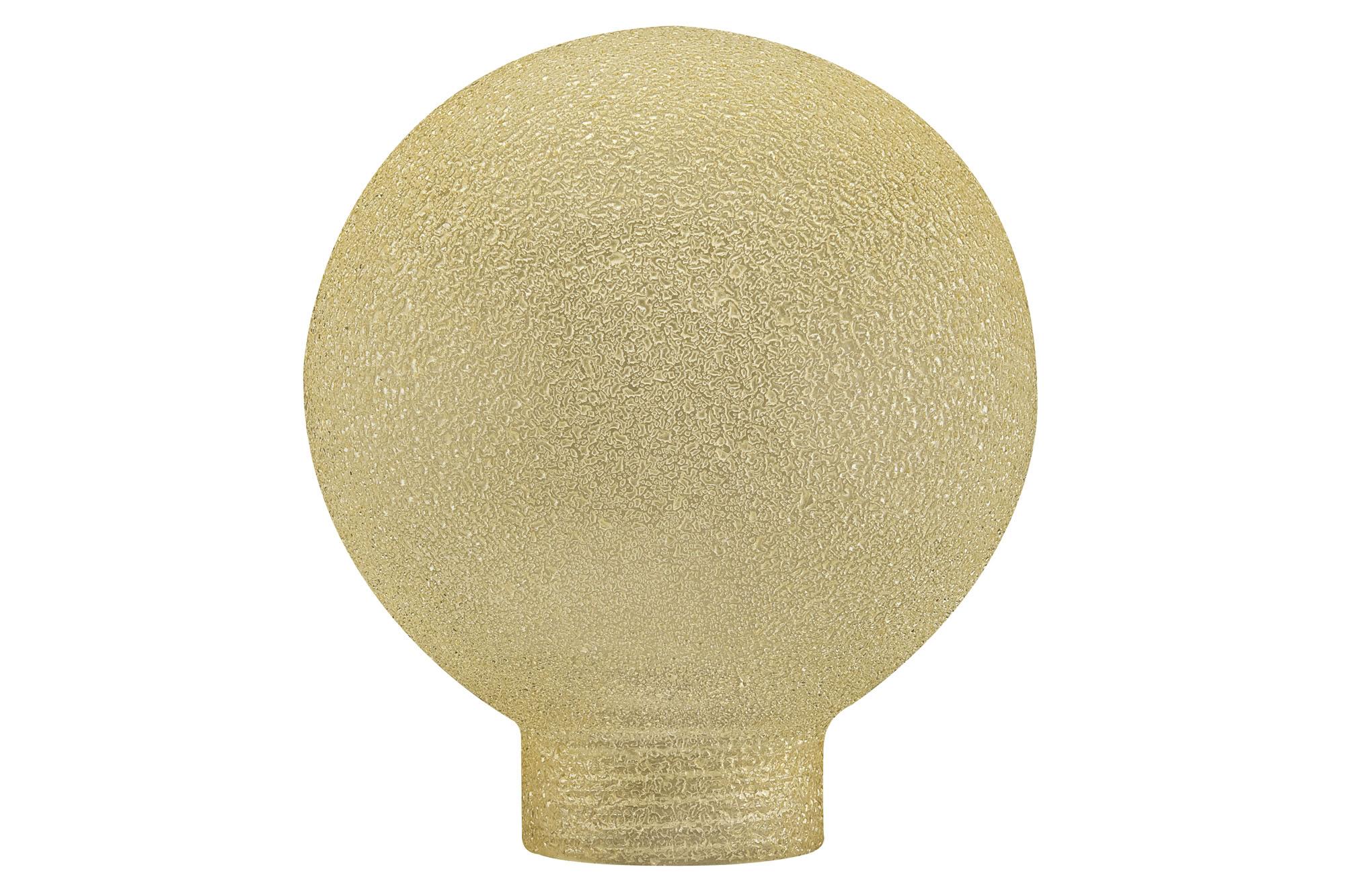 Paulmann. 87560 Плафон Globe 60 Minihalogen Eiskri Bernste