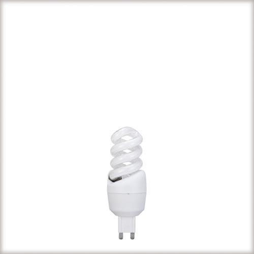 Paulmann. 88054 Лампа ESL 230V 9W=50W G9 (D-30mm,H-83mm) теплый белый