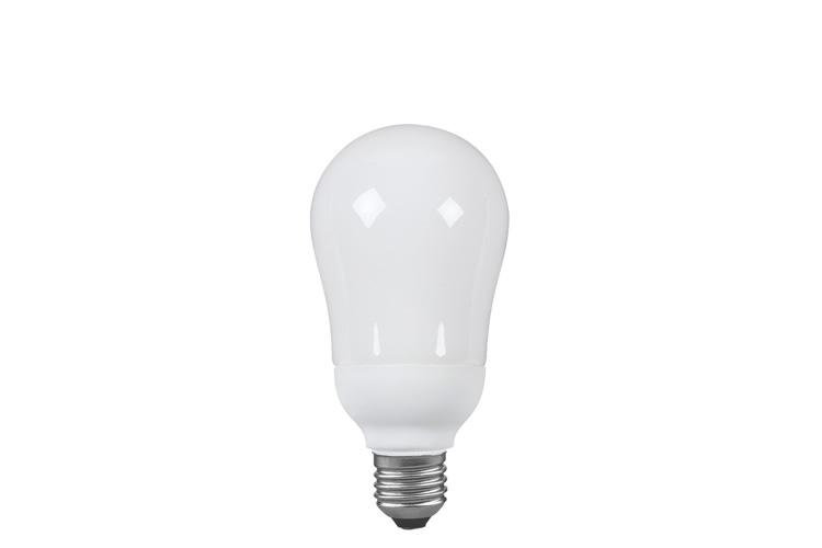 Paulmann. 89020 Экономная лампа AGL электроник, опал, E27, 150мм 20W