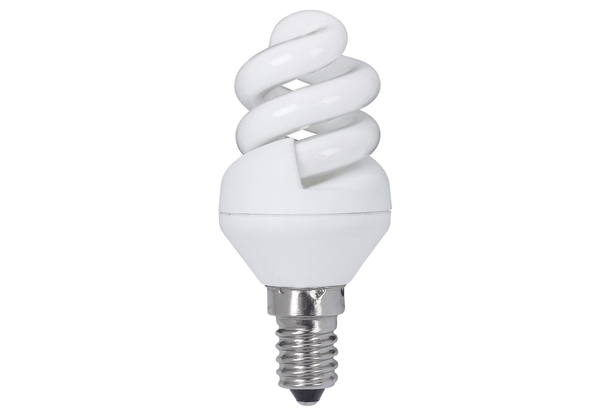 Paulmann. 89434 Лампа энергосберегающая, спираль 5W E14 теплый бел., экстра