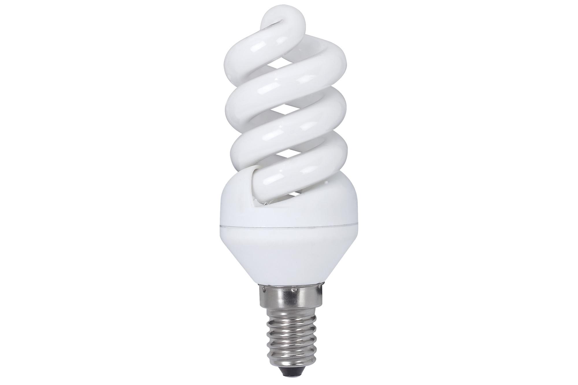 Paulmann. 89439 Лампа энергосберегающая, спираль 9W E14 теплый бел., экстра