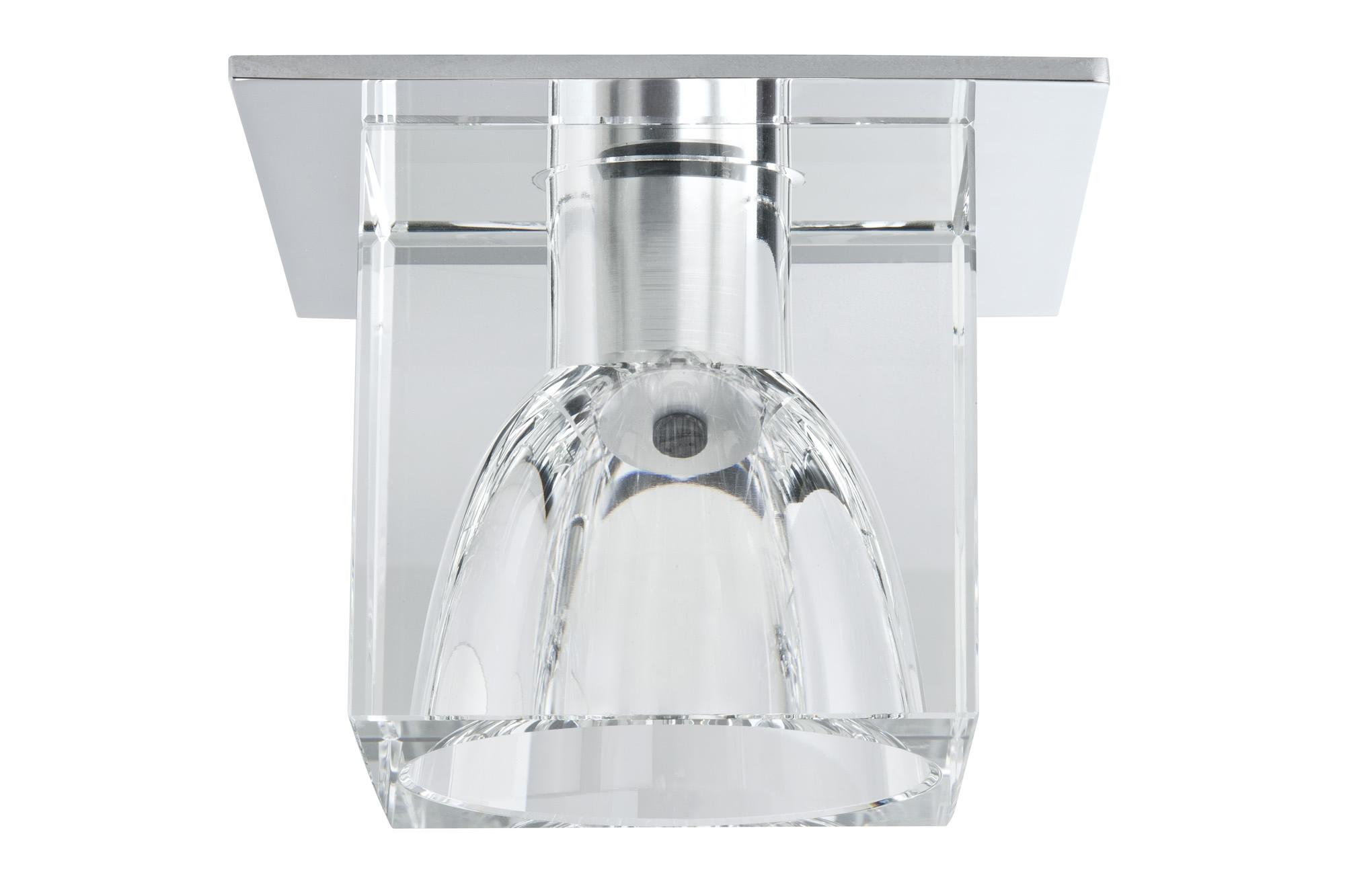 Paulmann. 92017 Светильник Quality EBL Glassy Cube max.20W G4