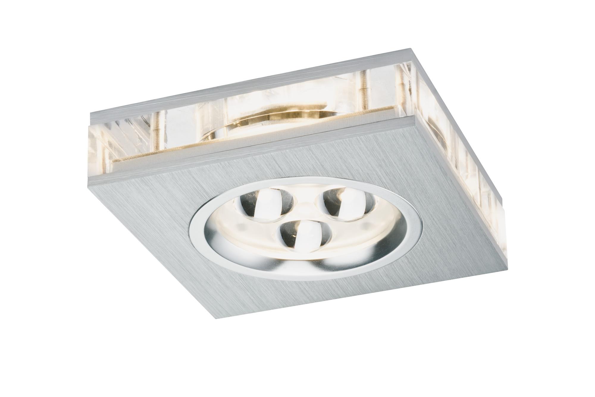 Paulmann. 92539 Набор св-ков Premium EBL Liro LED 3x3W Alu-g