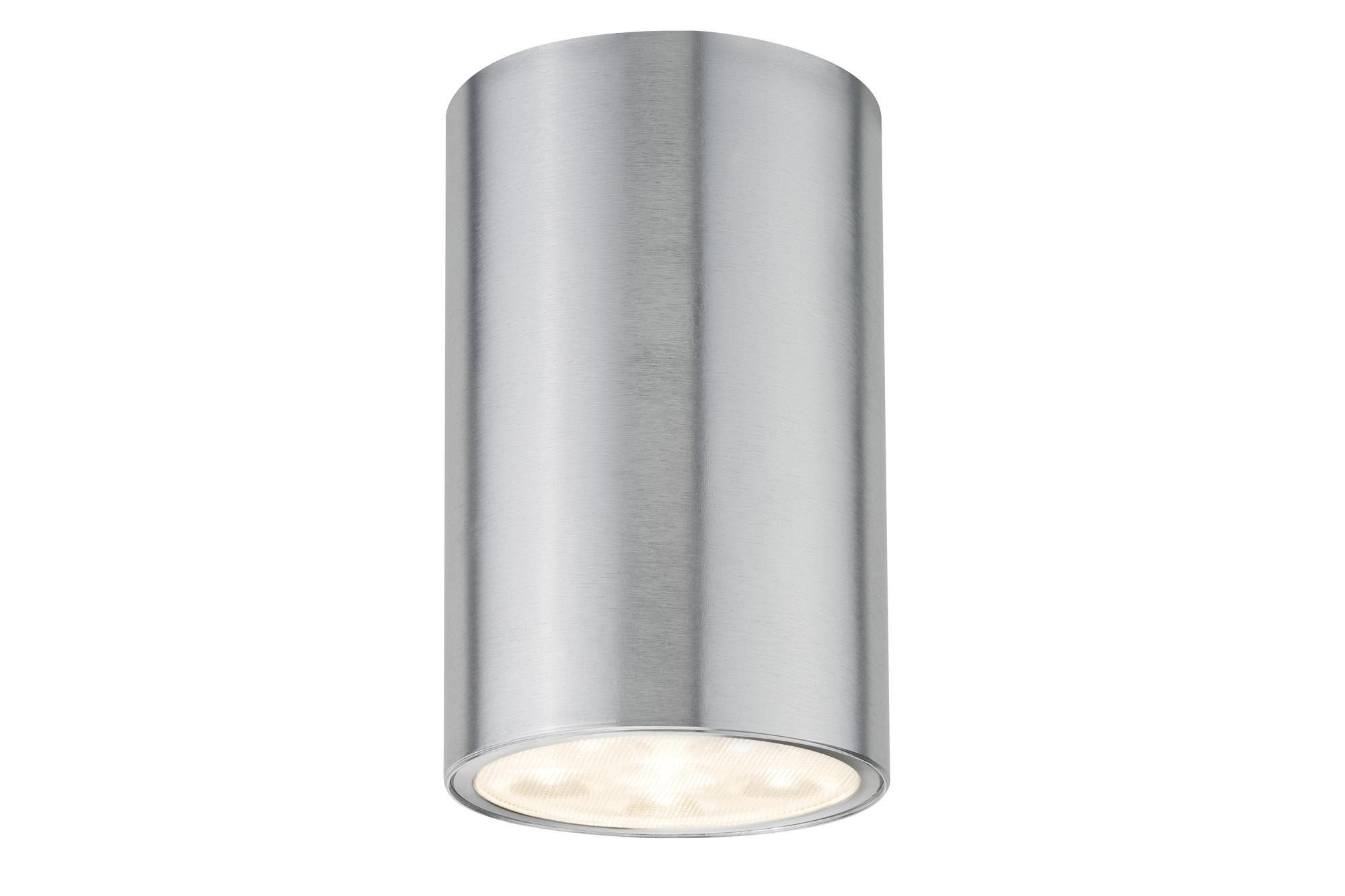 Paulmann. 92547 Светильник накладной Premium ABL Barrel rund LED 6W alu elox