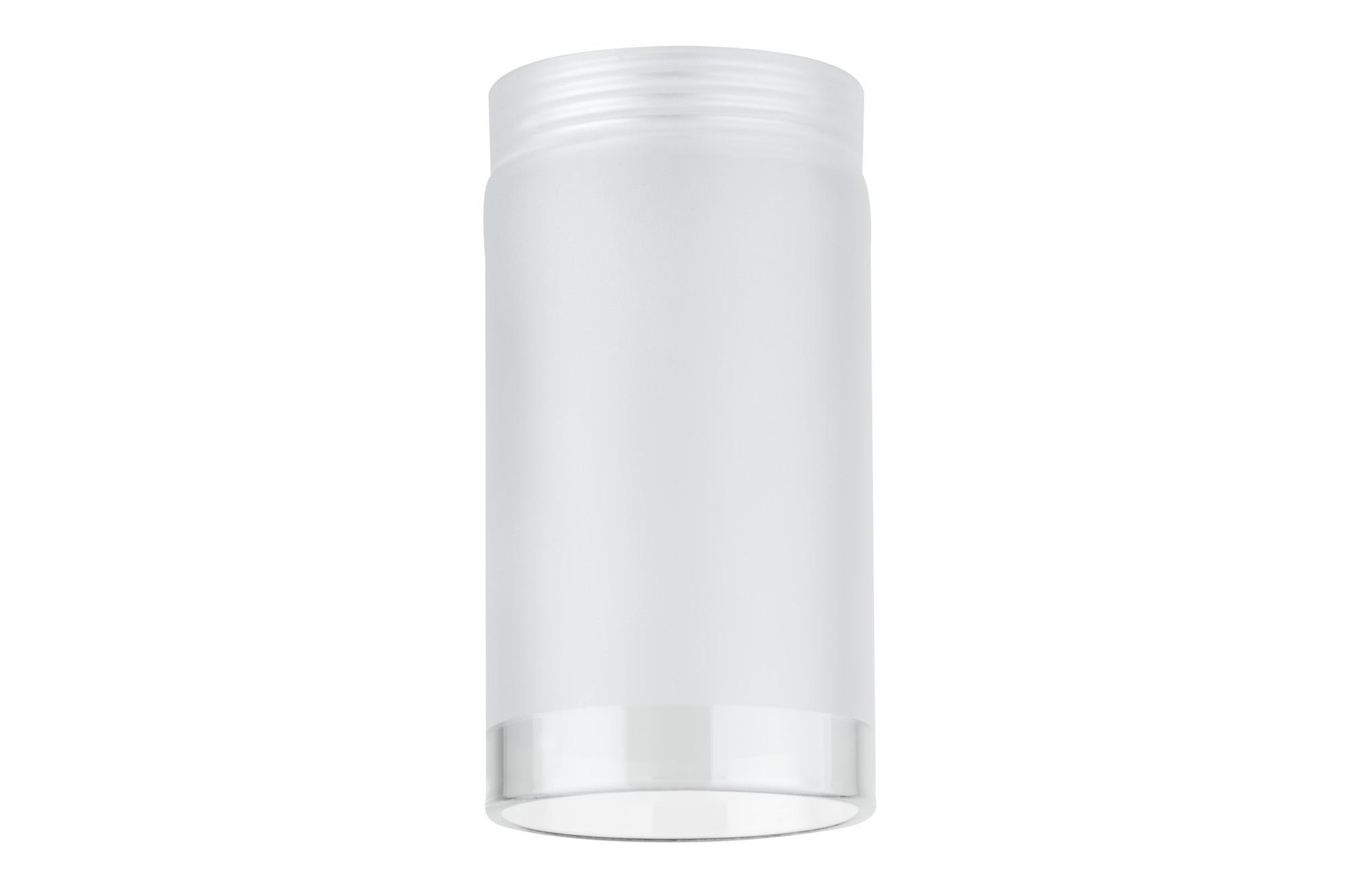 Paulmann. 92573 Плафон для DecoSystems Tube, satin/clear,стекло