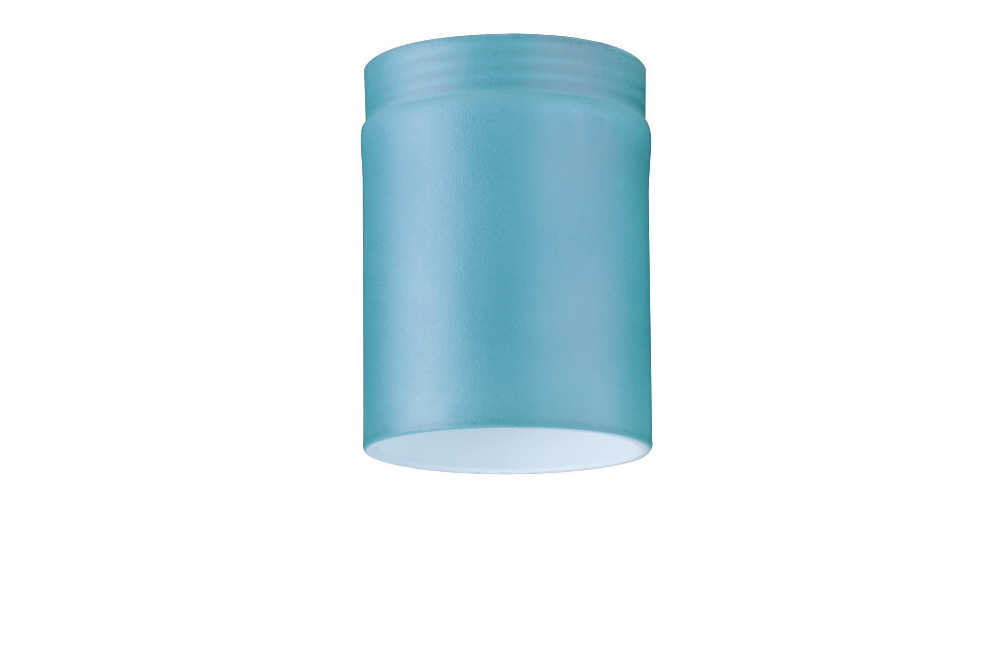 Paulmann. 92576 Плафон для DecoSystems Tube Mini, blue, стекло