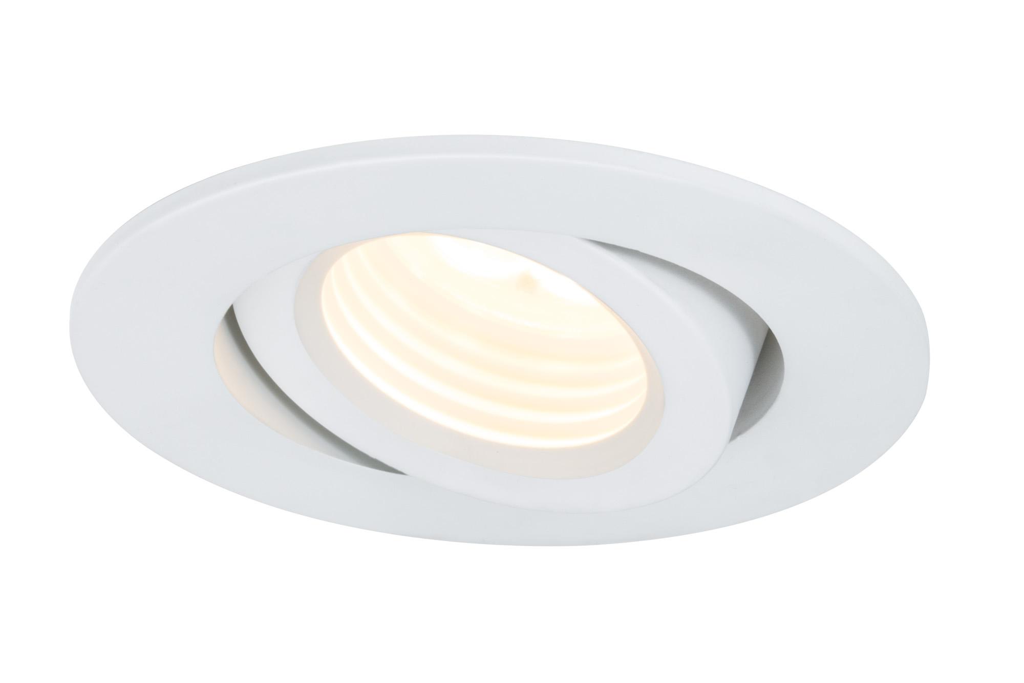 Paulmann. 92585 Светильник встр. Creamy schw LED 1x10W, 700mA, белый