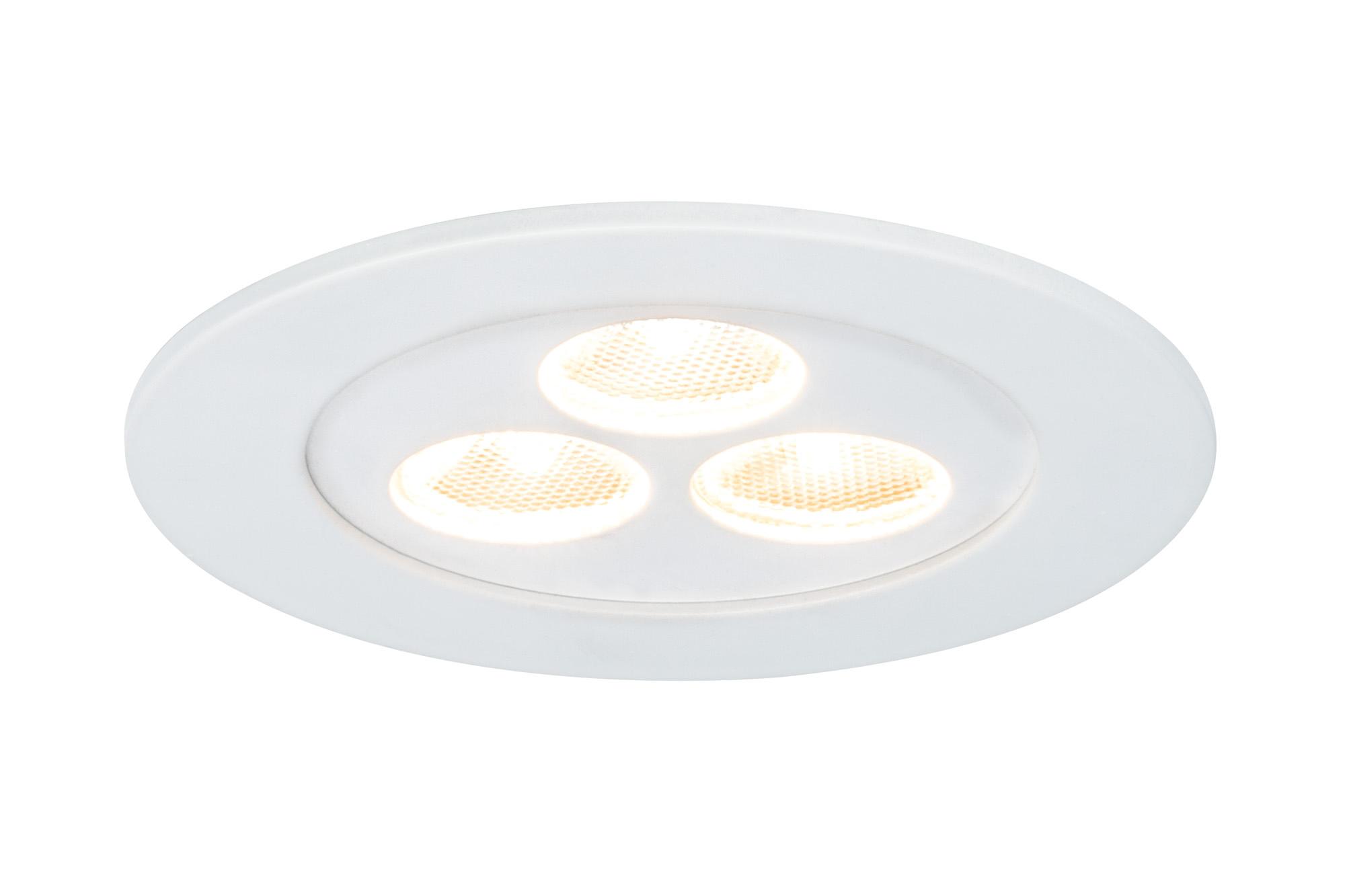 Paulmann. 92588 Светильник мебельный Flat LED 1x3,6W, 350mA, белый