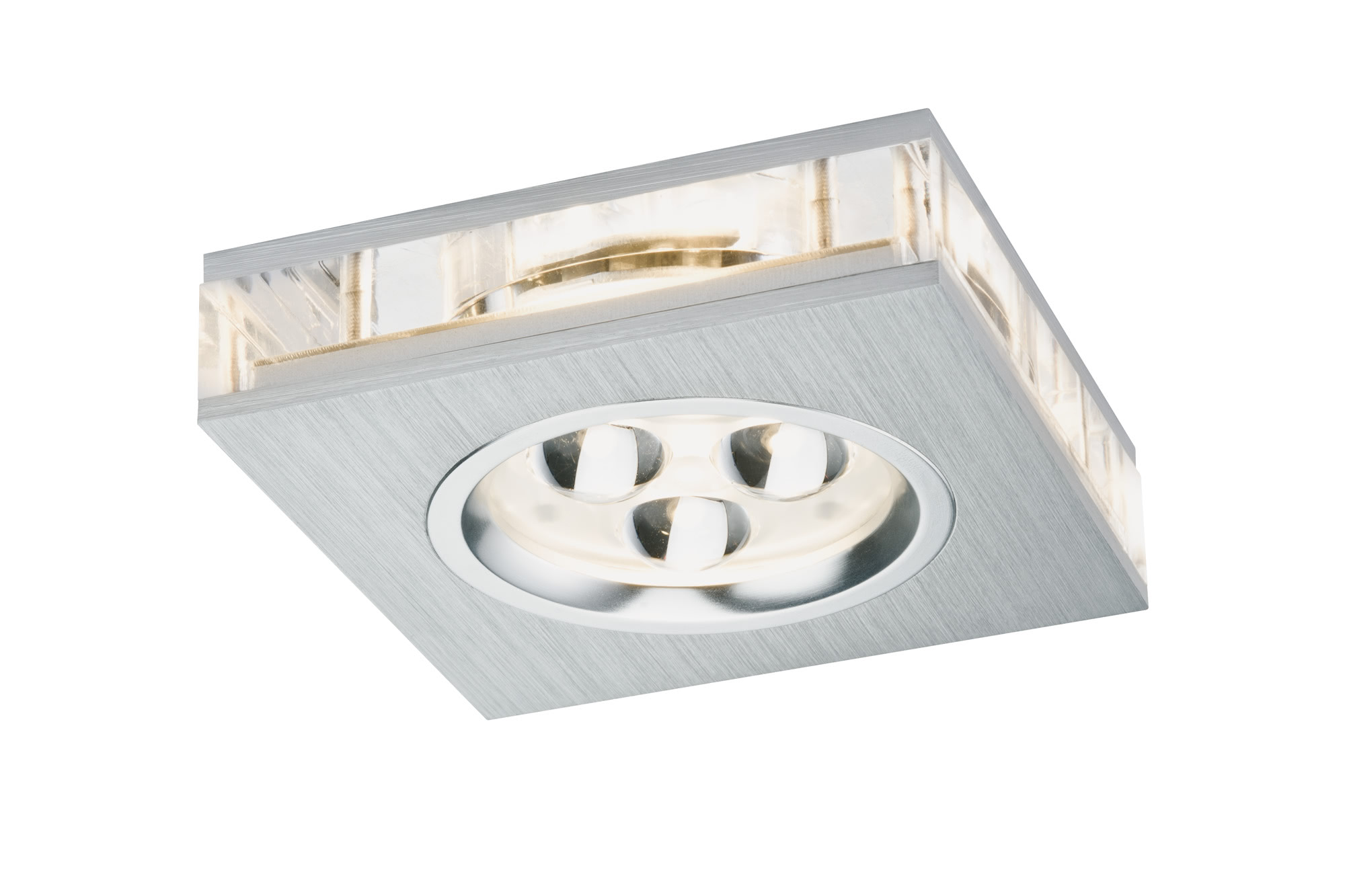 Paulmann. 92601 Prem.EBL Liro eckig LED 1x3W Alu-g