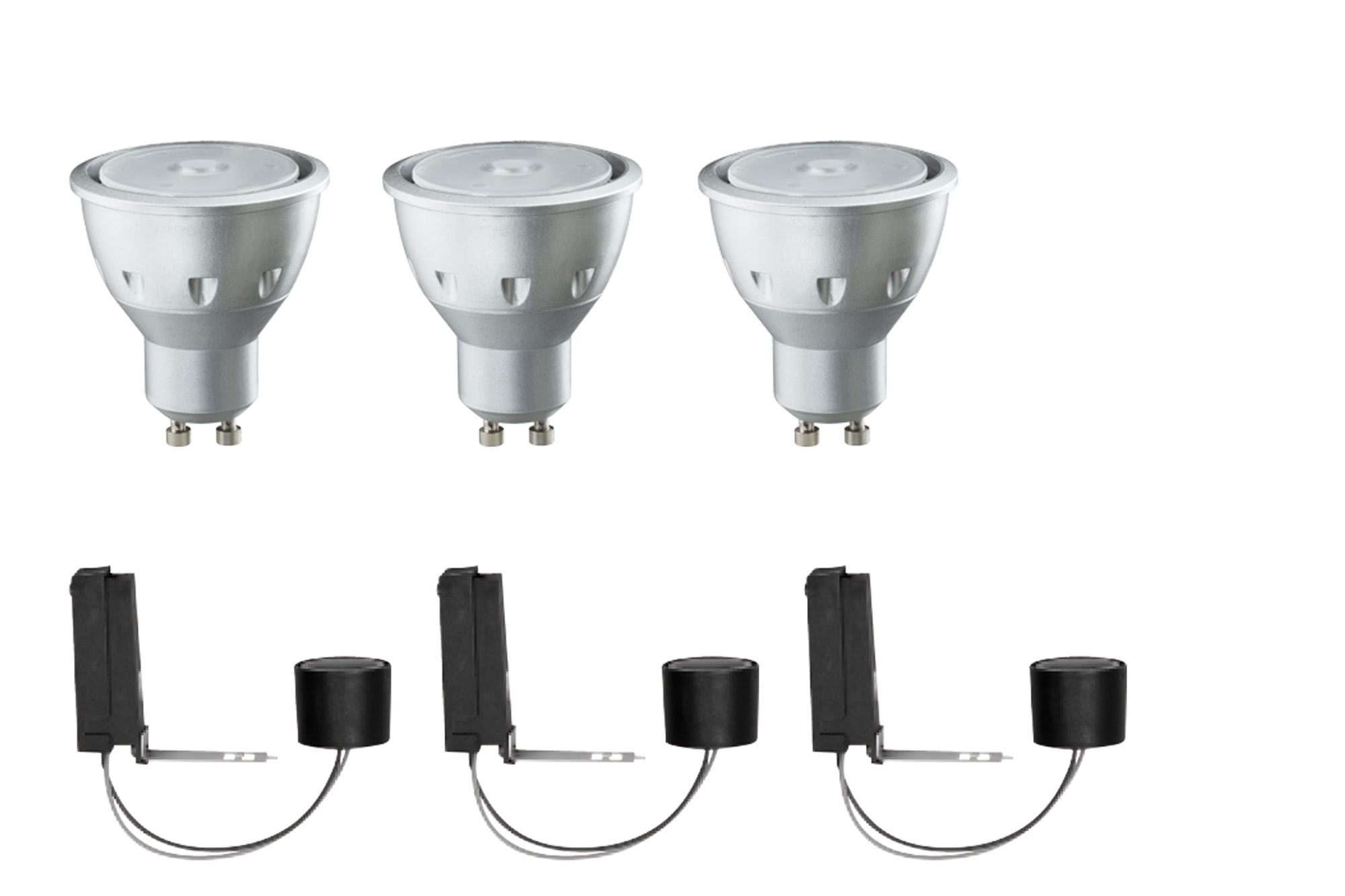 Paulmann. 92606 2Easy EBL Basis LED 3x3,5W GU10