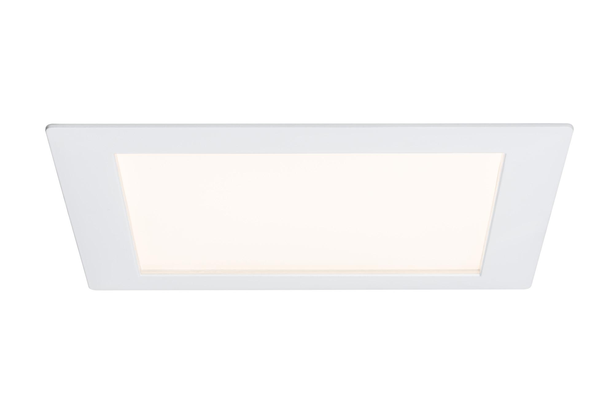 Paulmann. 92612 Светильник светодиодный Panel eckig LED 1x8W, белый