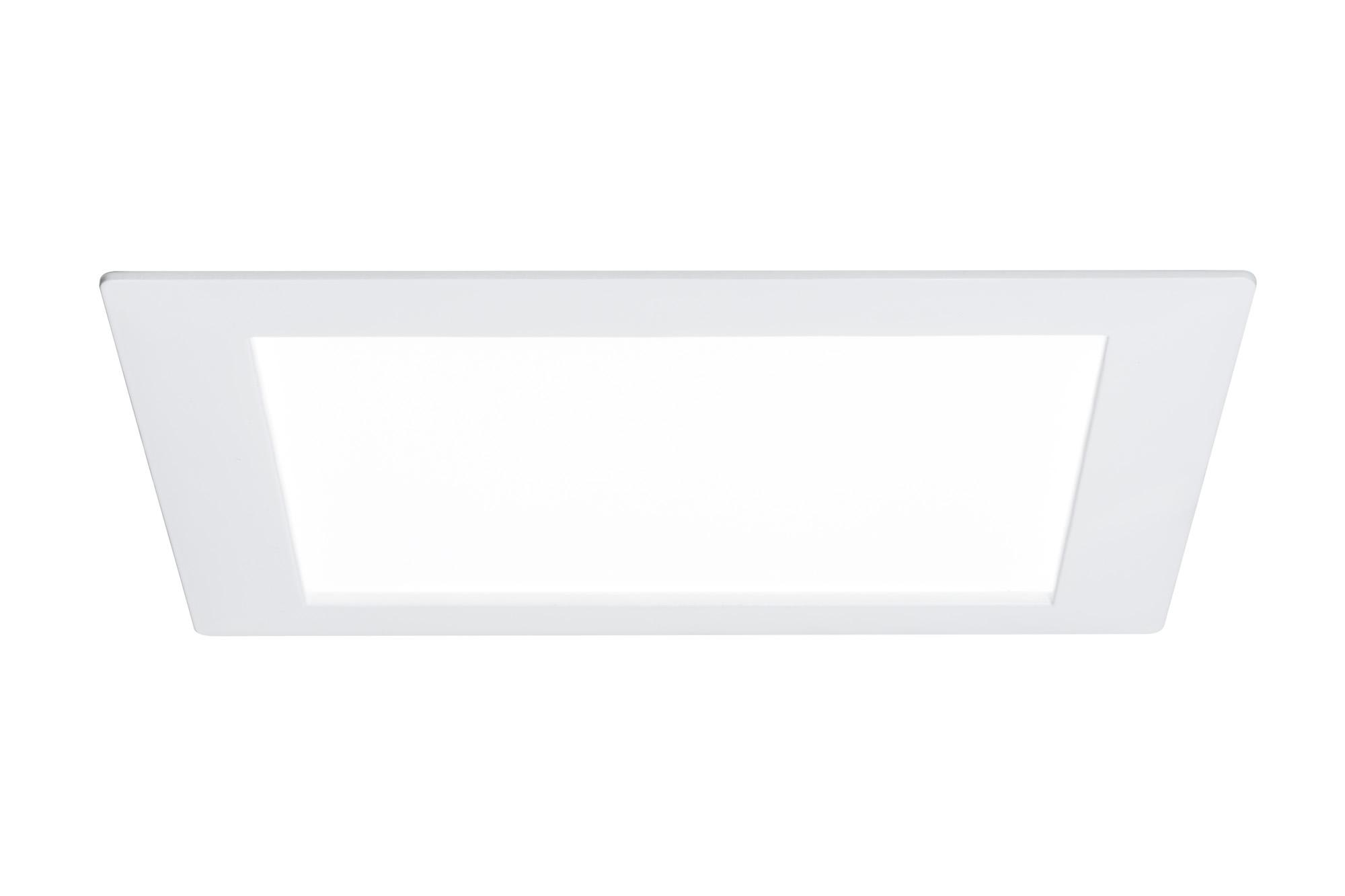 Paulmann. 92613 Светильник светодиодный Panel eckig LED 1x8W, белый
