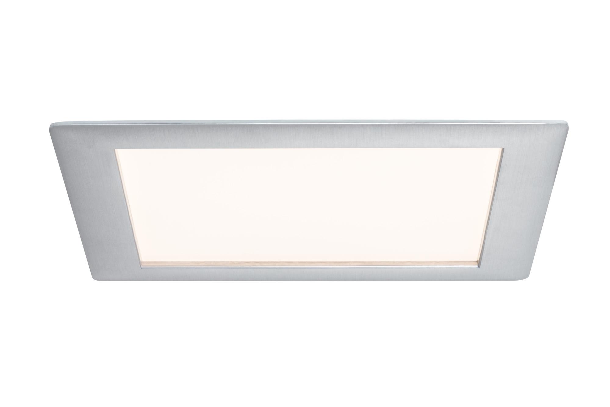 Paulmann. 92614 Светильник Prem.EBL Panel eckig LED 1x15W Alu-g
