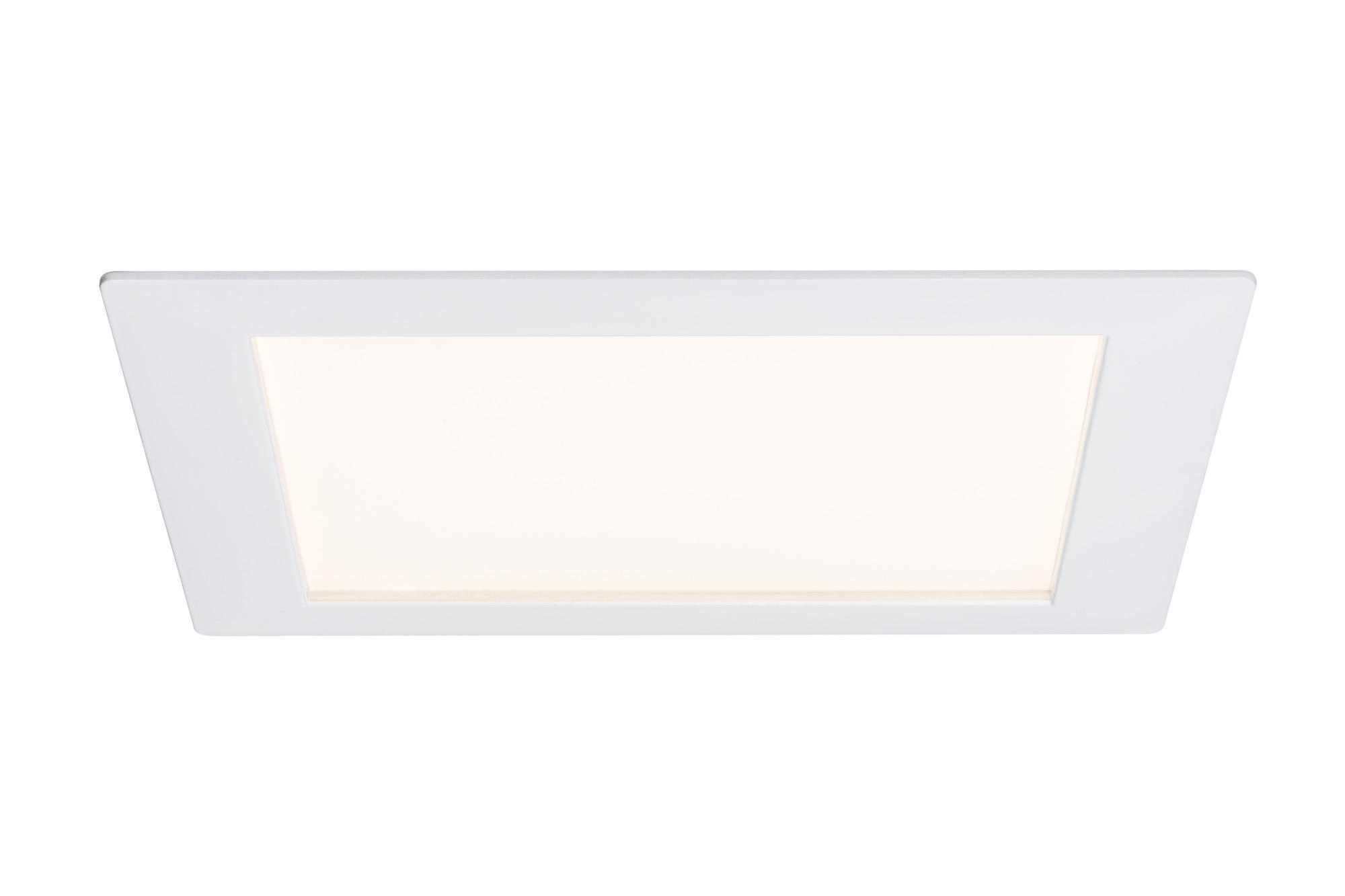 Paulmann. 92615 Светильник Prem.EBL Panel eckig LED 1x15W Ws