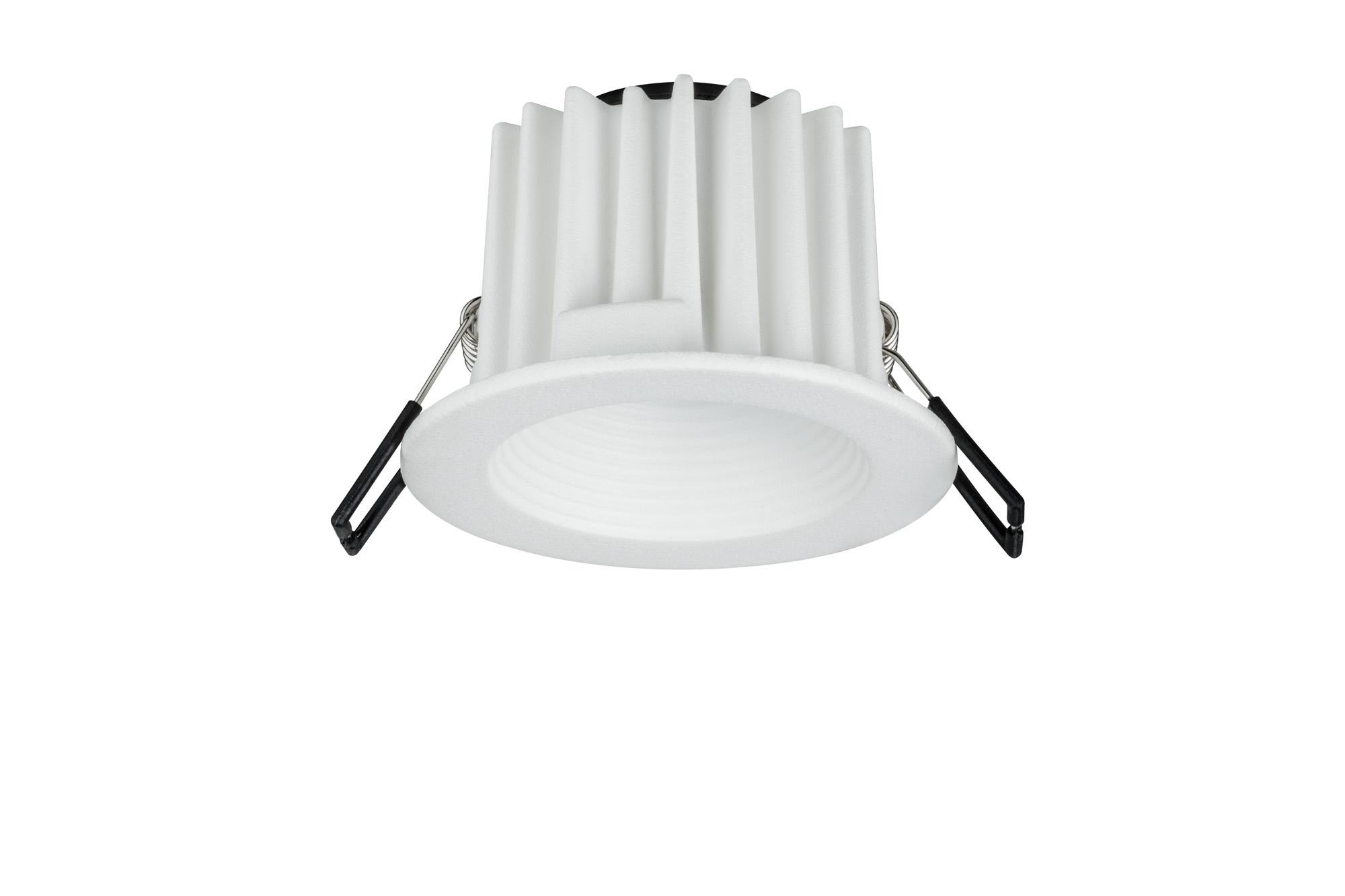 Paulmann. 92635 Светильник встроенный Helia IP65 ru st LED 1x8,7W, белый