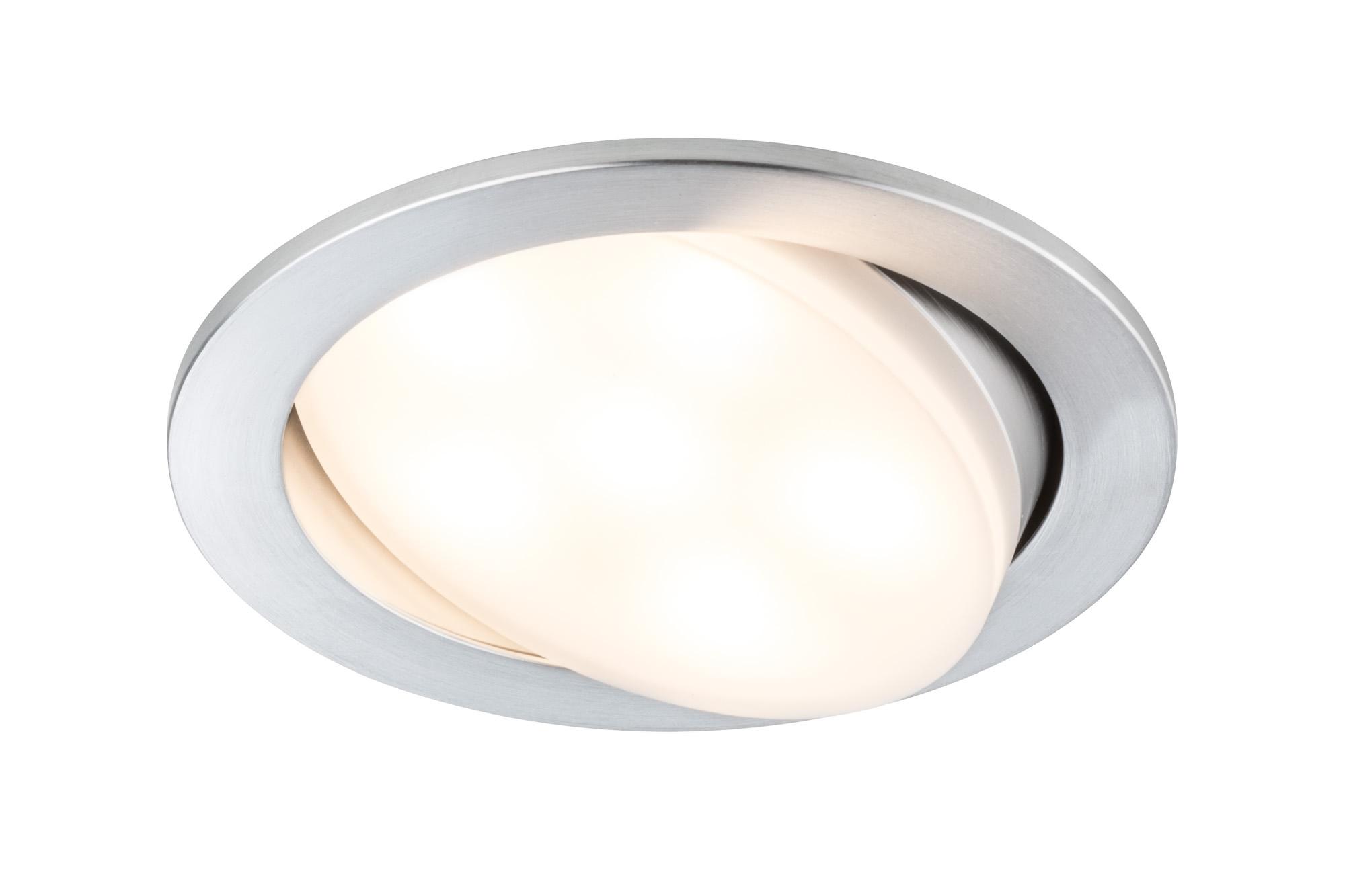 Paulmann. 92673 Комплект светильников Prem EBL Set Daz LED 3x6W Alu drilled