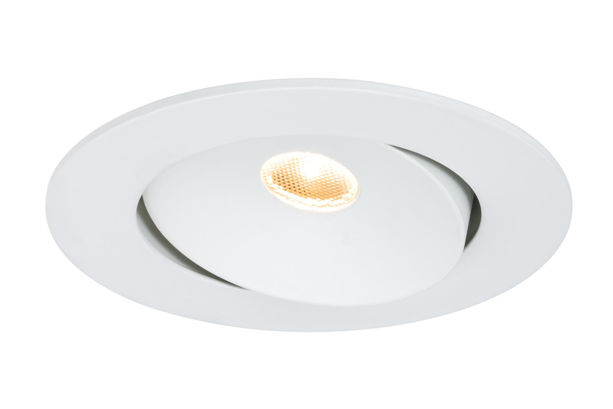 Paulmann. 92687 Светильник встр. комплект Cloud schw LED 3x10W, белый