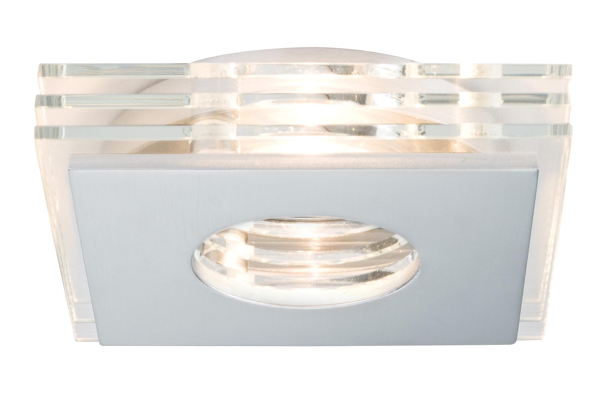 Paulmann. 92723 Светильник встр. Layer LED 3x3,5W GU10 Al-g