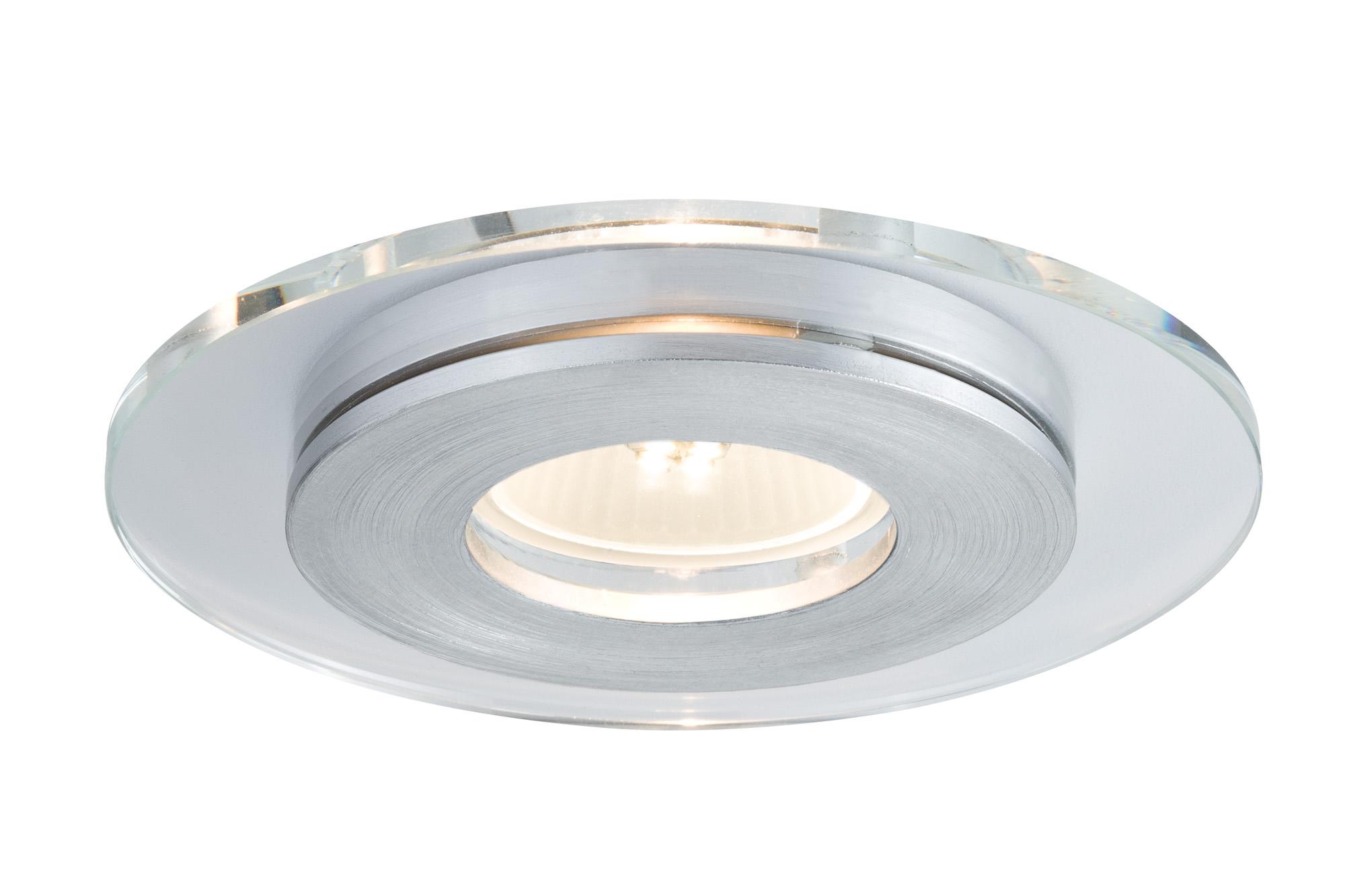 Paulmann. 92726 Светильник встроенный Premium EBL Single Shell 3x3,5W GU10, алюм.