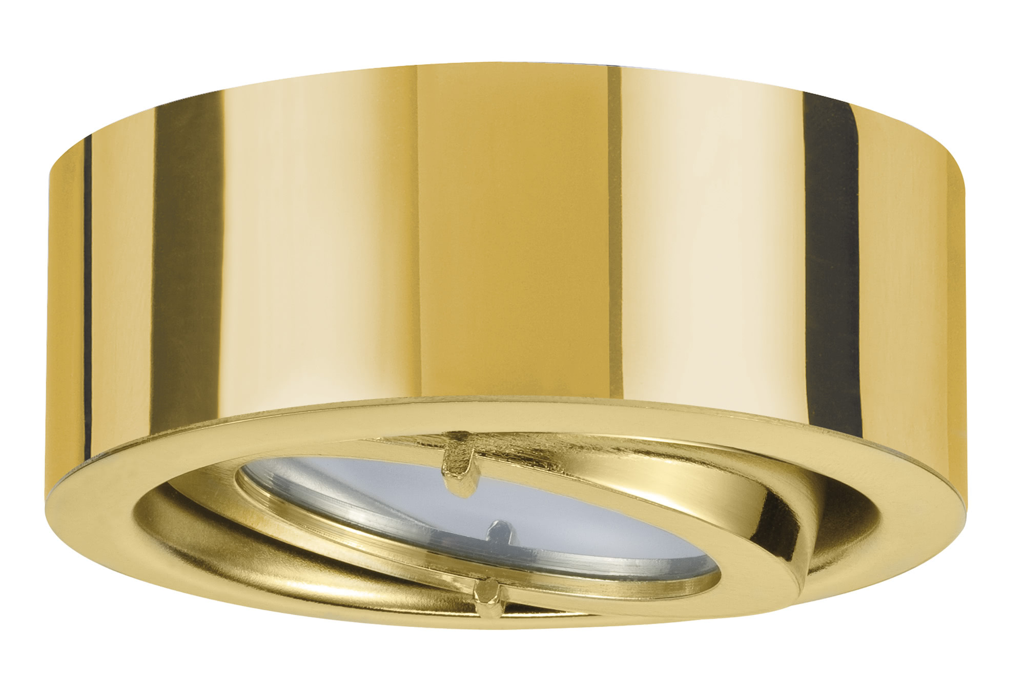 Paulmann. 93505 Комплект мебельных светильников Set schw. 3x20W G4, золото