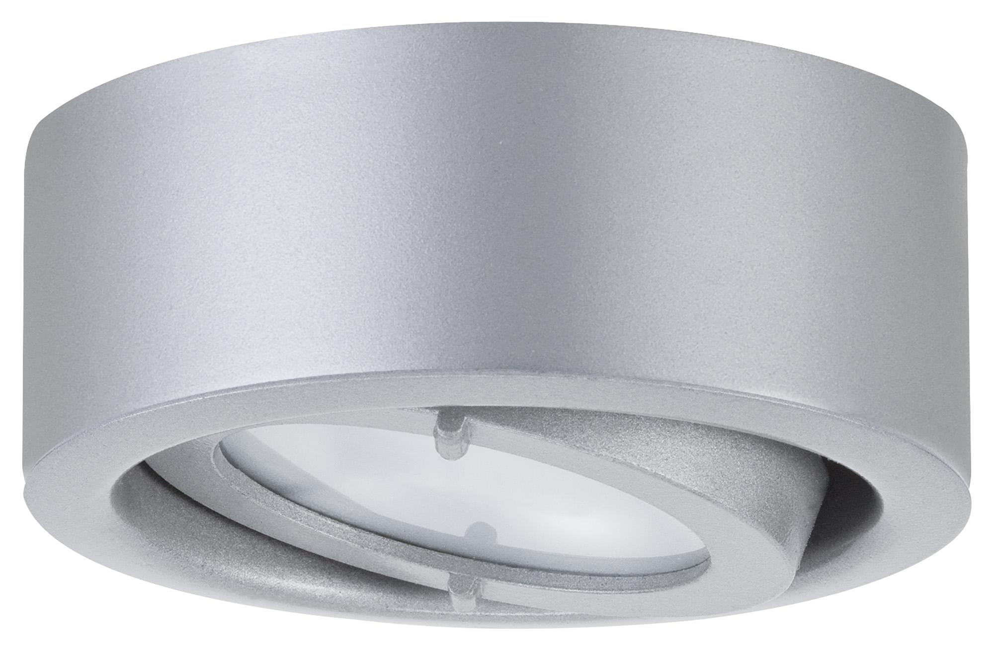 Paulmann. 93513 Светильник мебельный накладной, max.20W G4 хром матовый