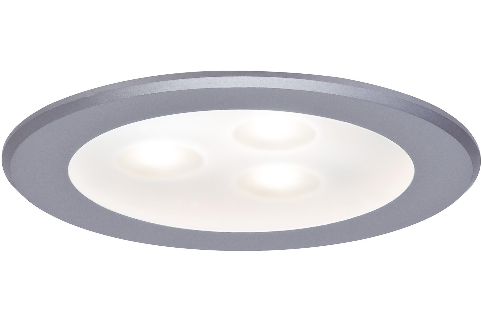 Paulmann. 93548 Светильник мебельный high power LED 1x3W 3VA, хром матовый